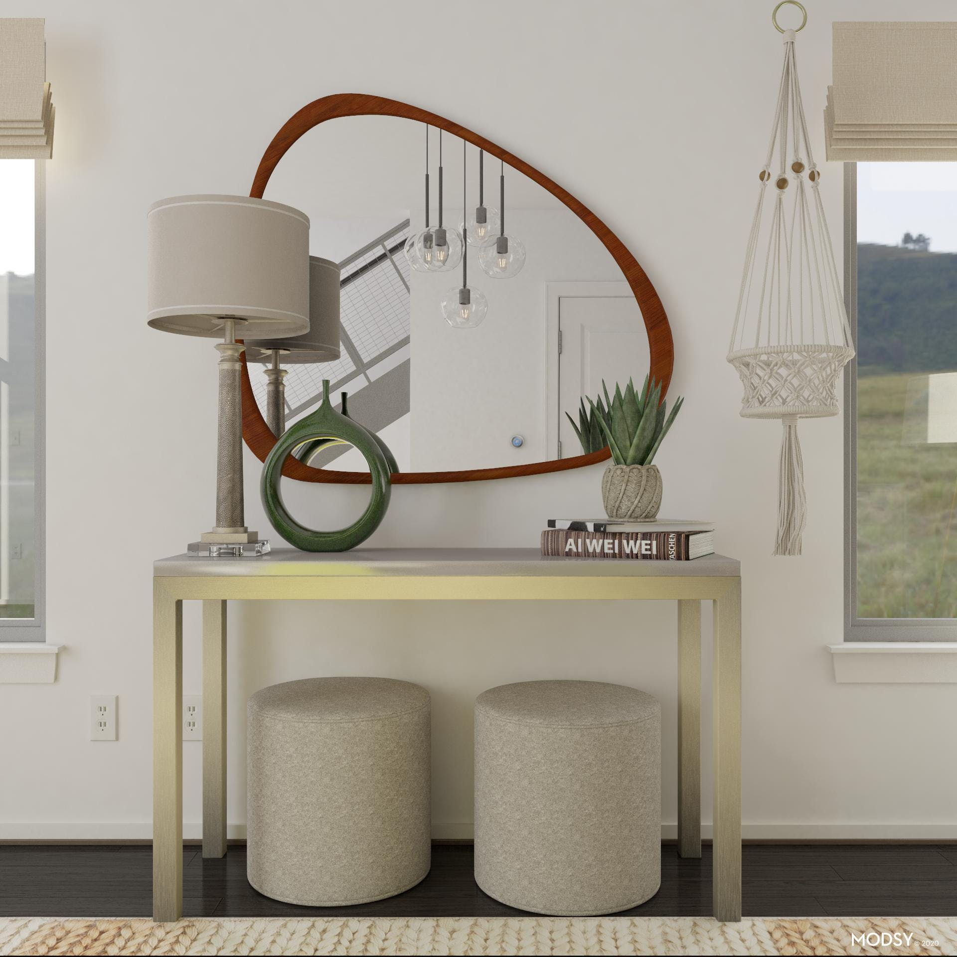 Modern Dining Room Console