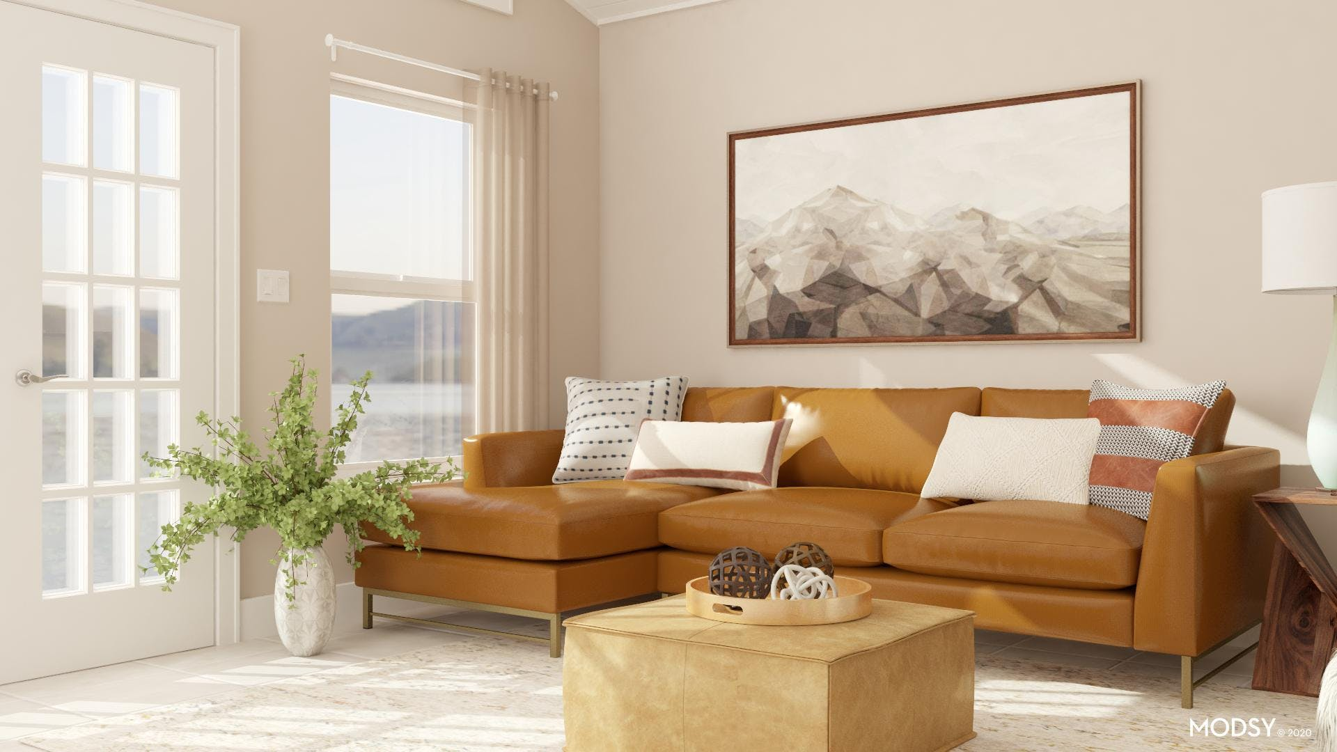 Leather Sectional: Kid-Friendly Living