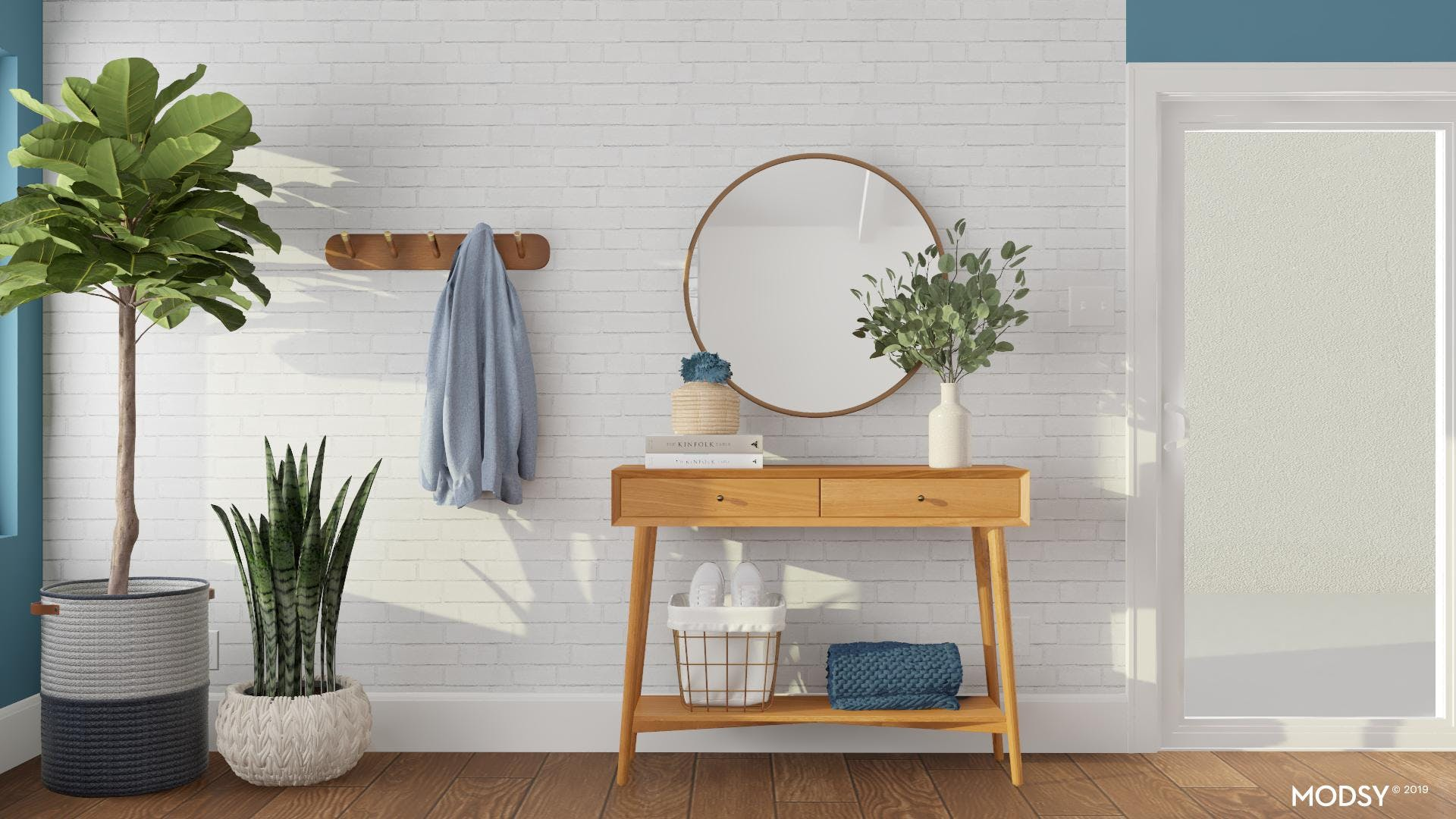 Surface Styling your Entryway