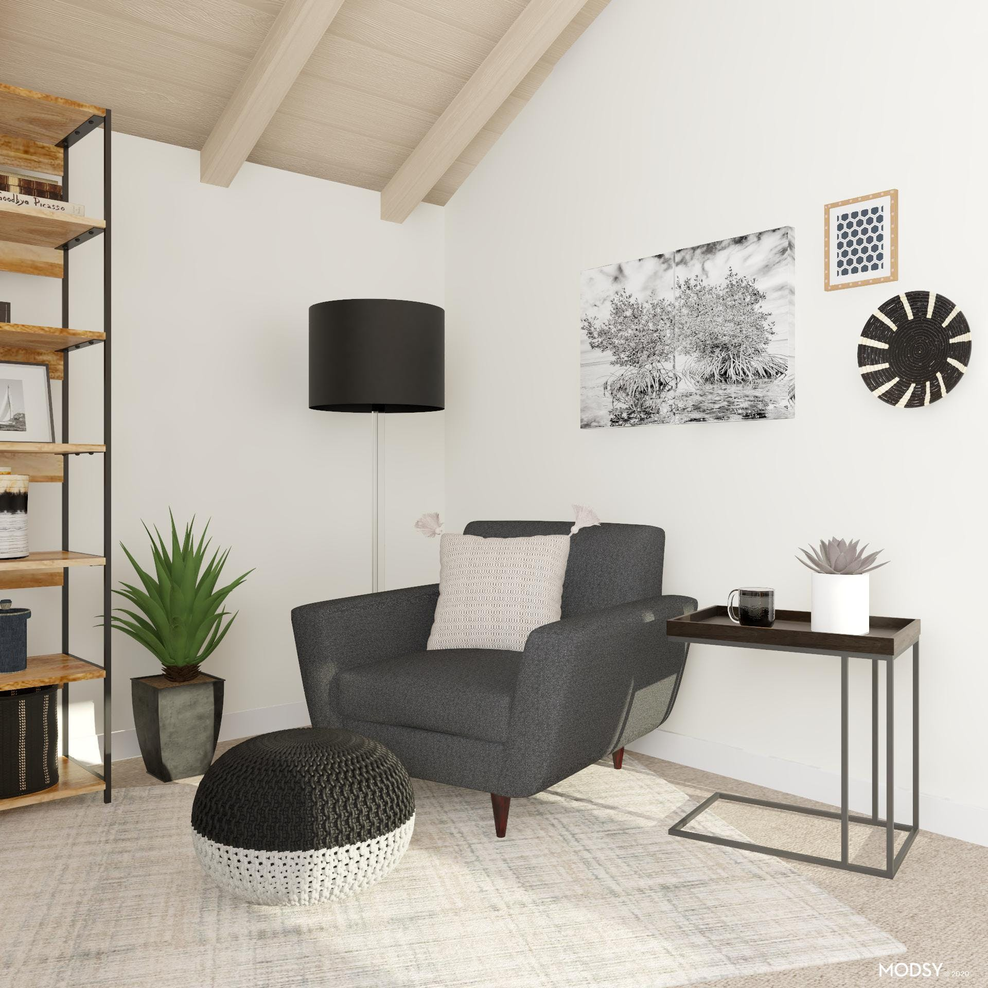 Black and White, A Transitional Study