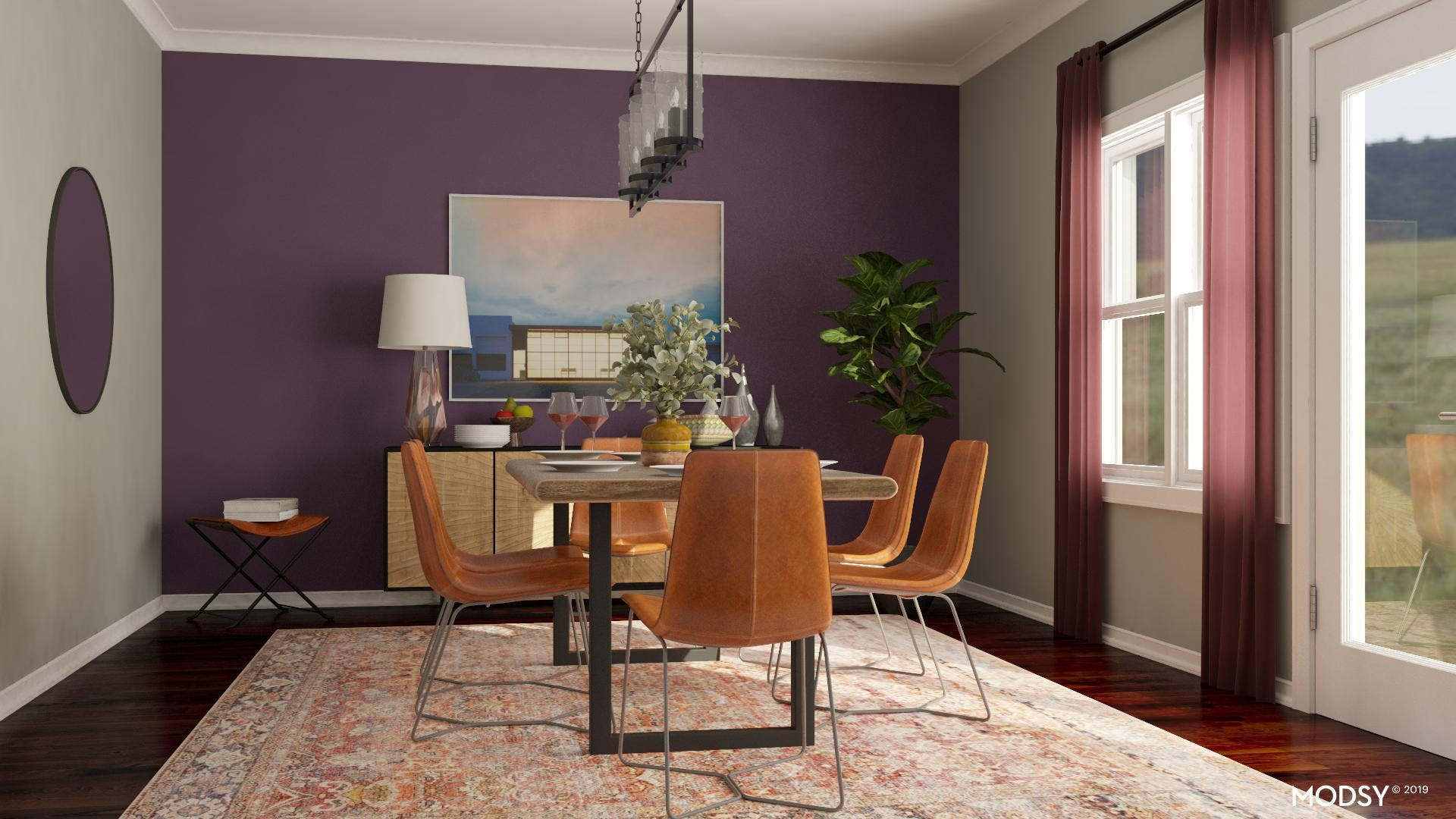An Industrial Jewel: Dining Room