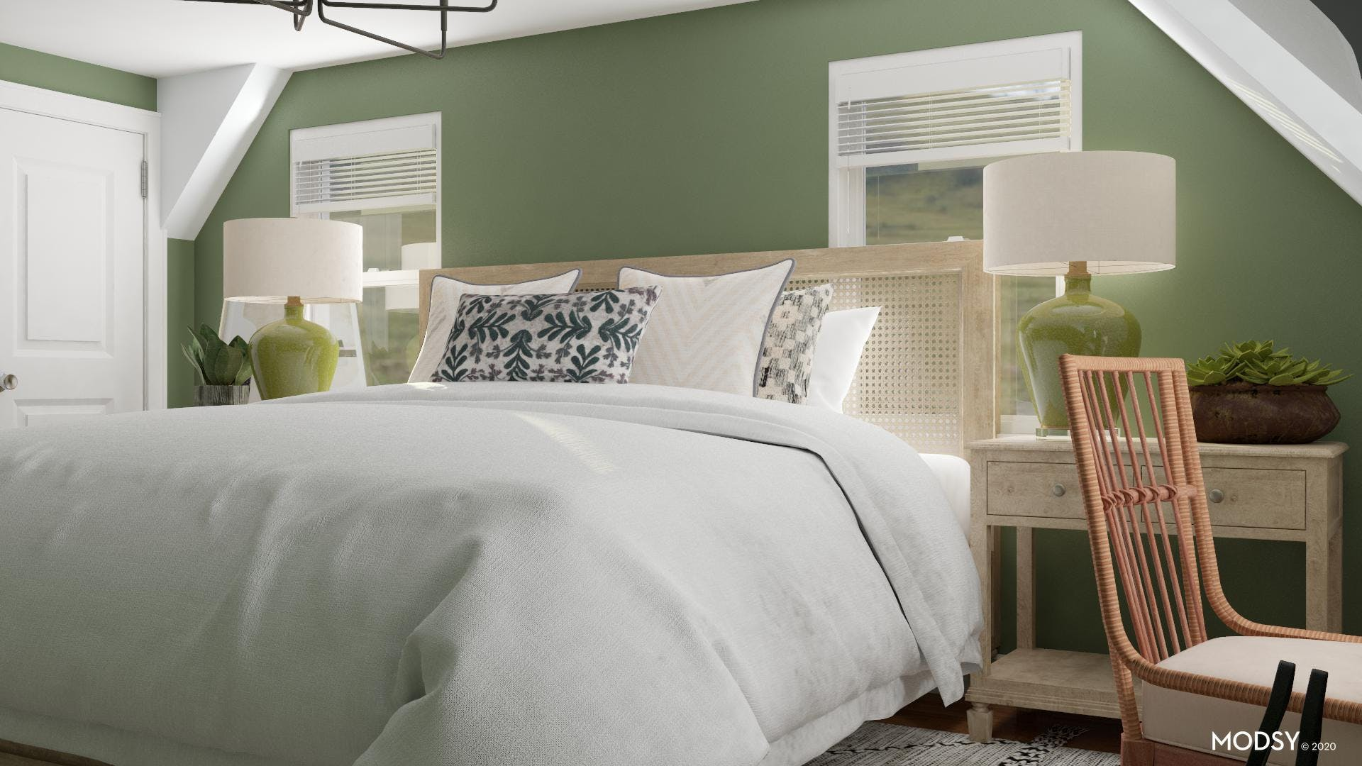 Green Master Suite