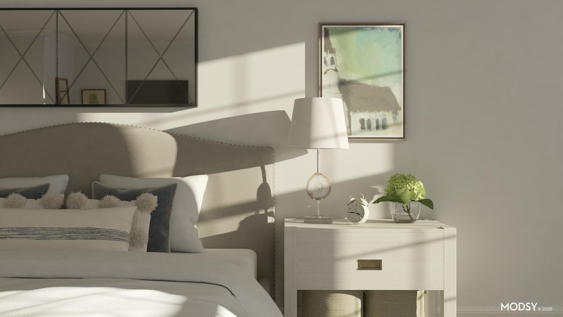 Soft And Traditional Bedroom Design