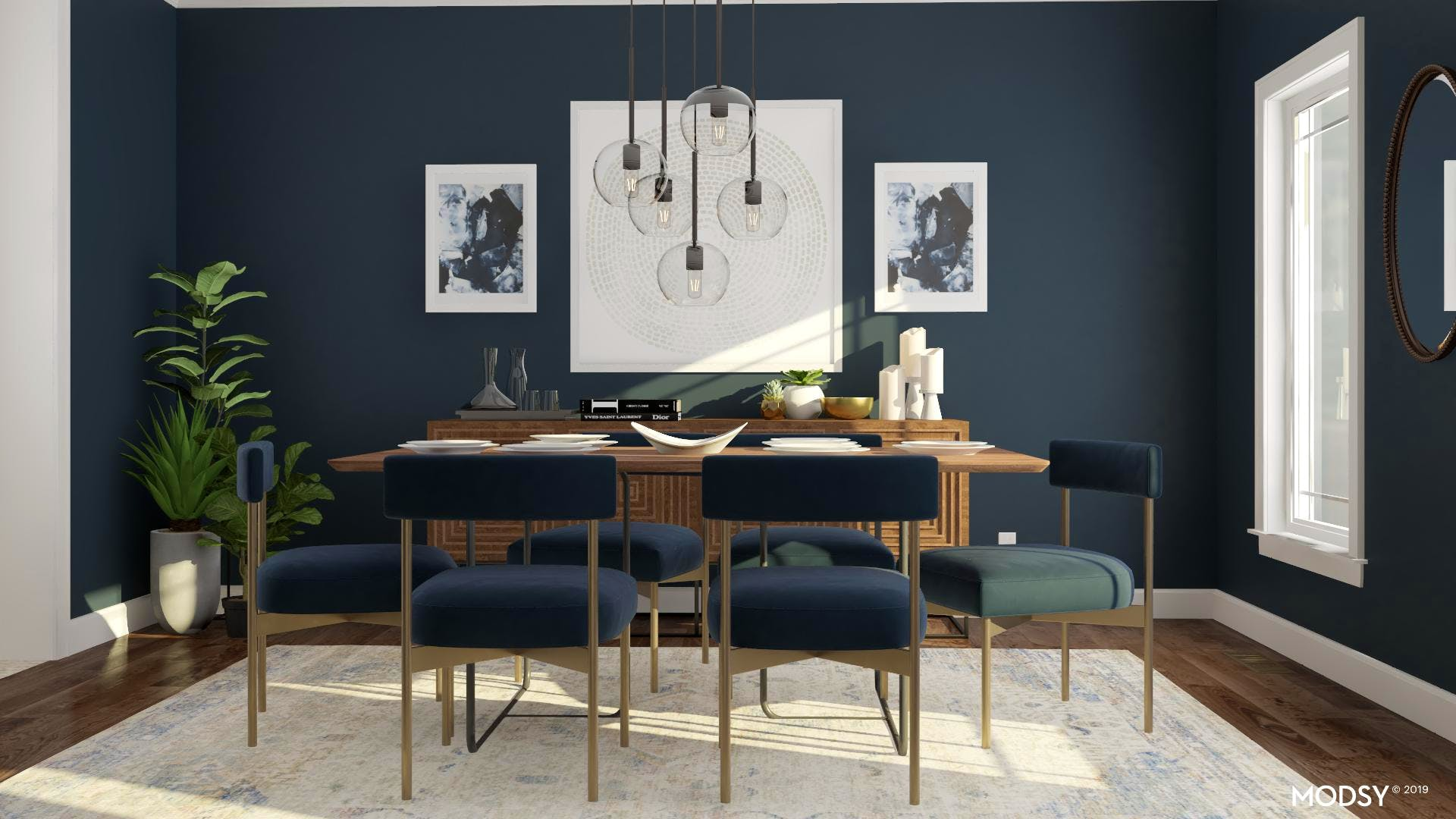 Going Bold In Your Dining Room