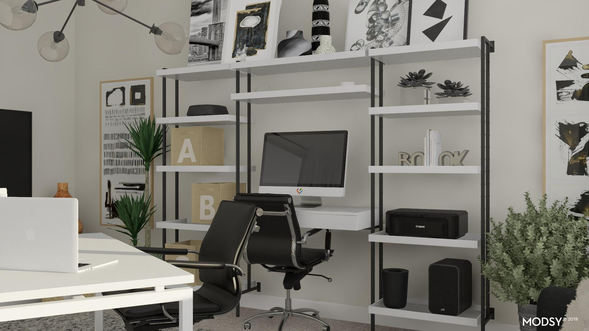 Work Space: Mission Organized