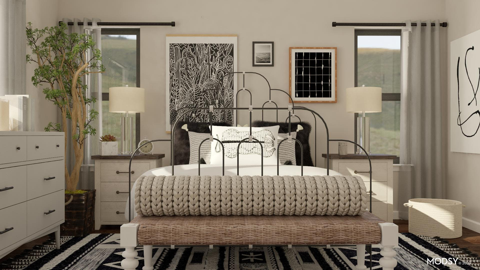 Eclectic: Black And White Bold