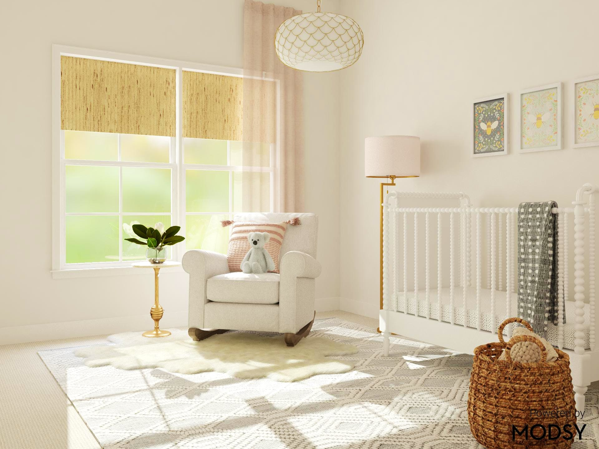 Sunny Rustic and Nursery in Pastels