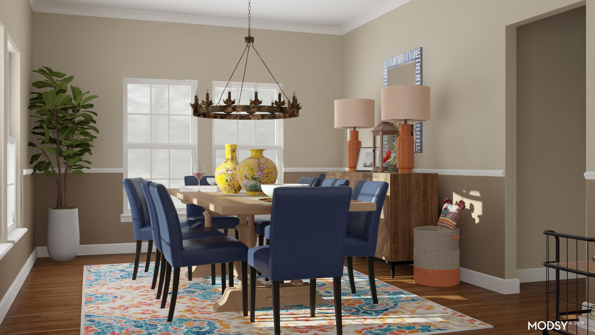 Dining Room: Jewel Tones