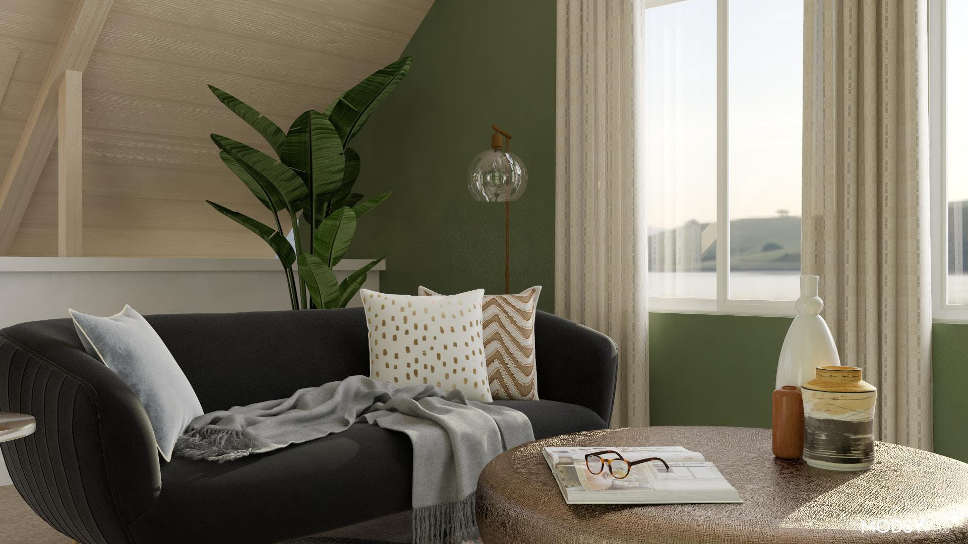 Making a Statement With an Earthy Color Palette