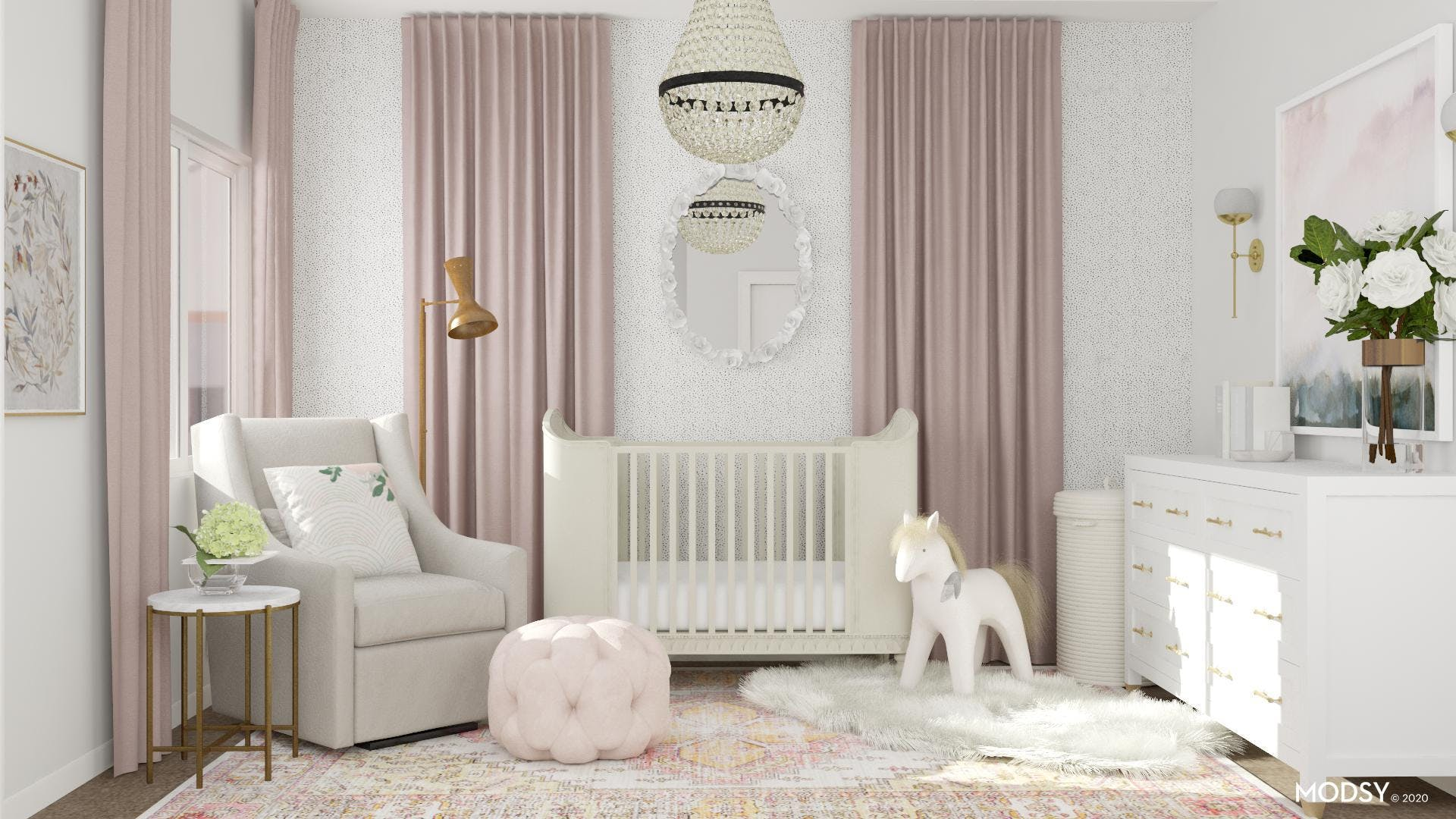 Glam Nursery: Soft And Sweet