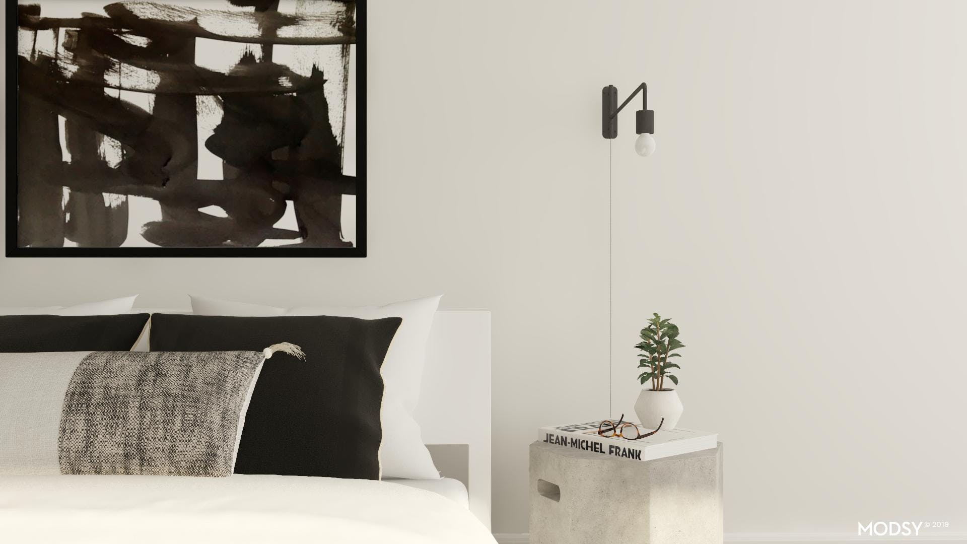 Simple Modern Bedroom Accents