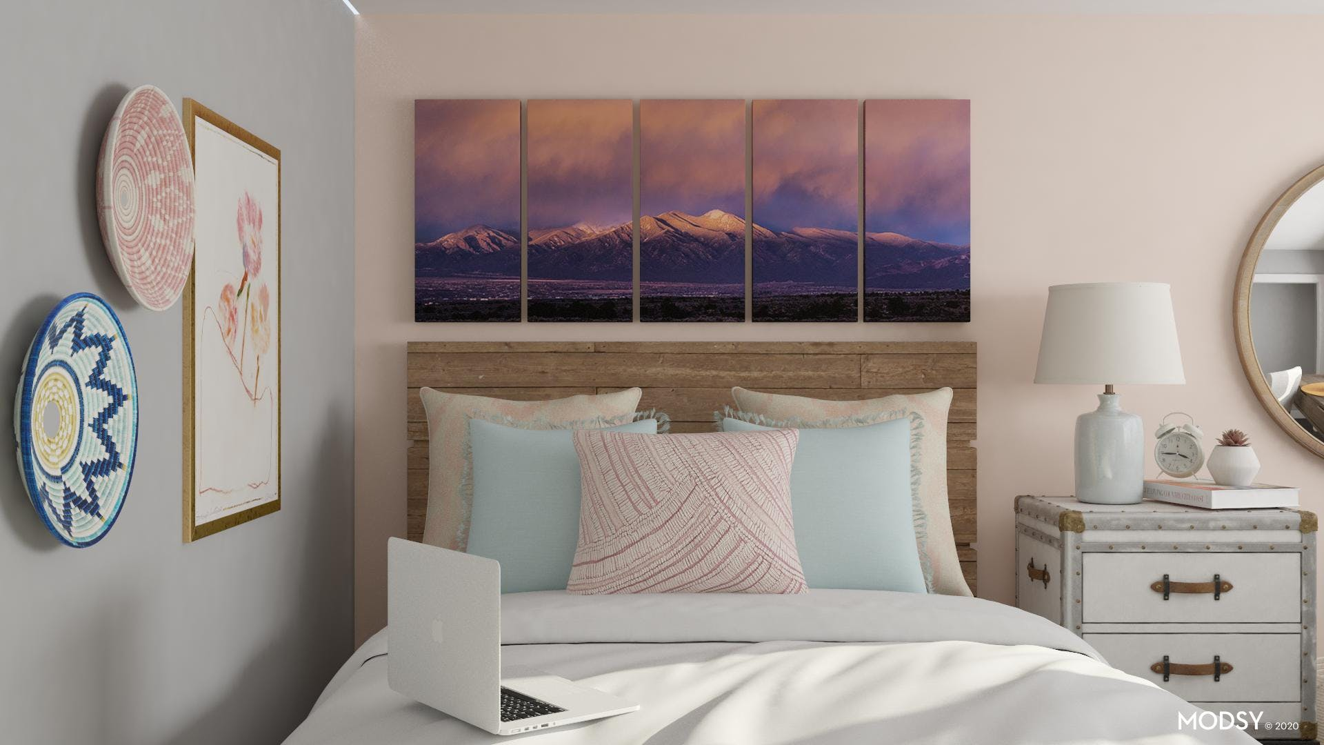 Pastel Focal Point