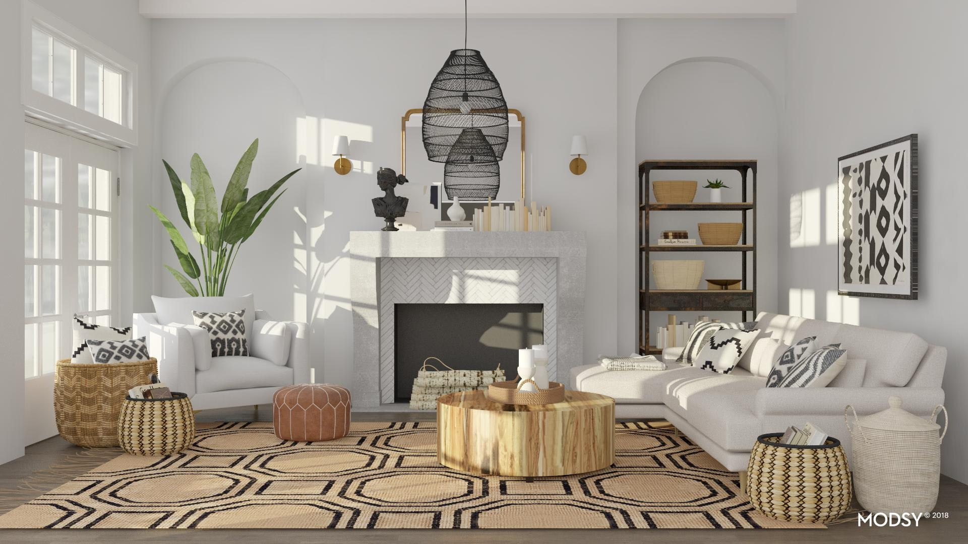 Woven Light Fixture Design Ideas And Styles From Modsy Designers