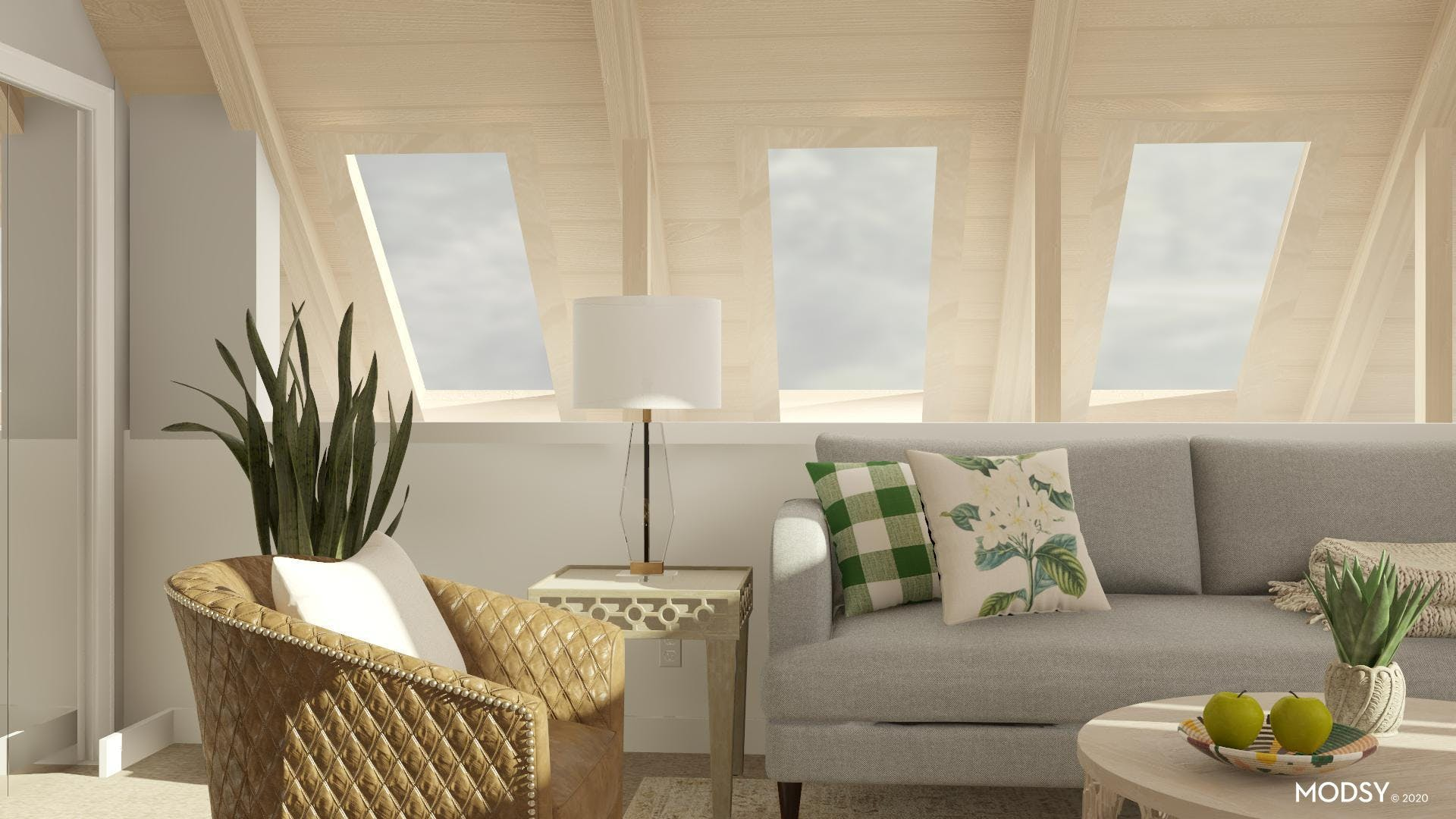 Timeless in Transitional Living Room