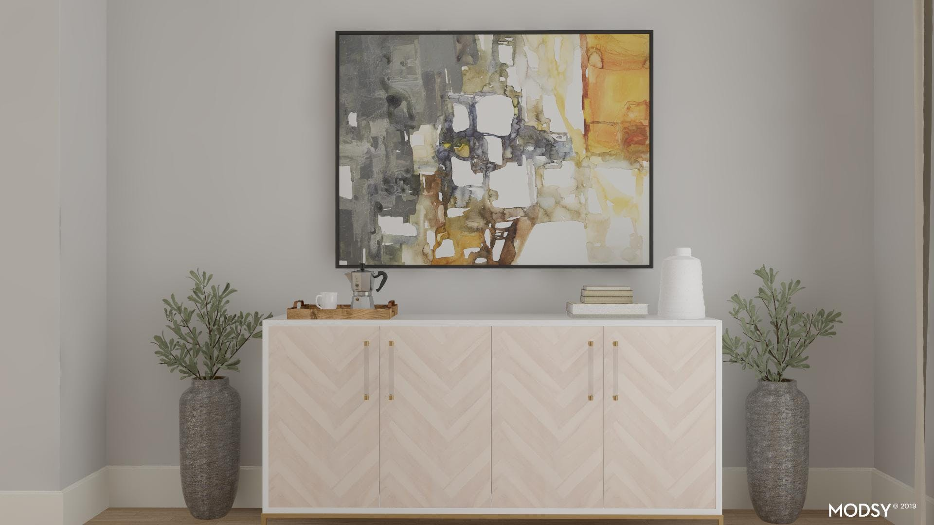 A Far From Sterile Sideboard