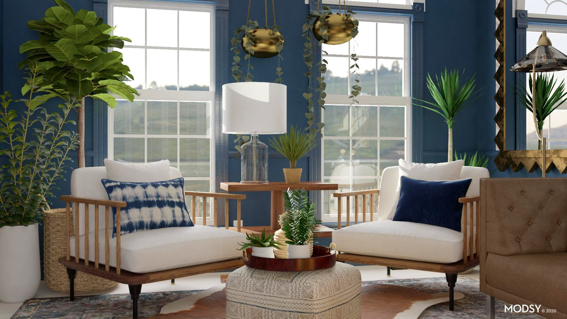 Mix And Match In An Eclectic Living Room