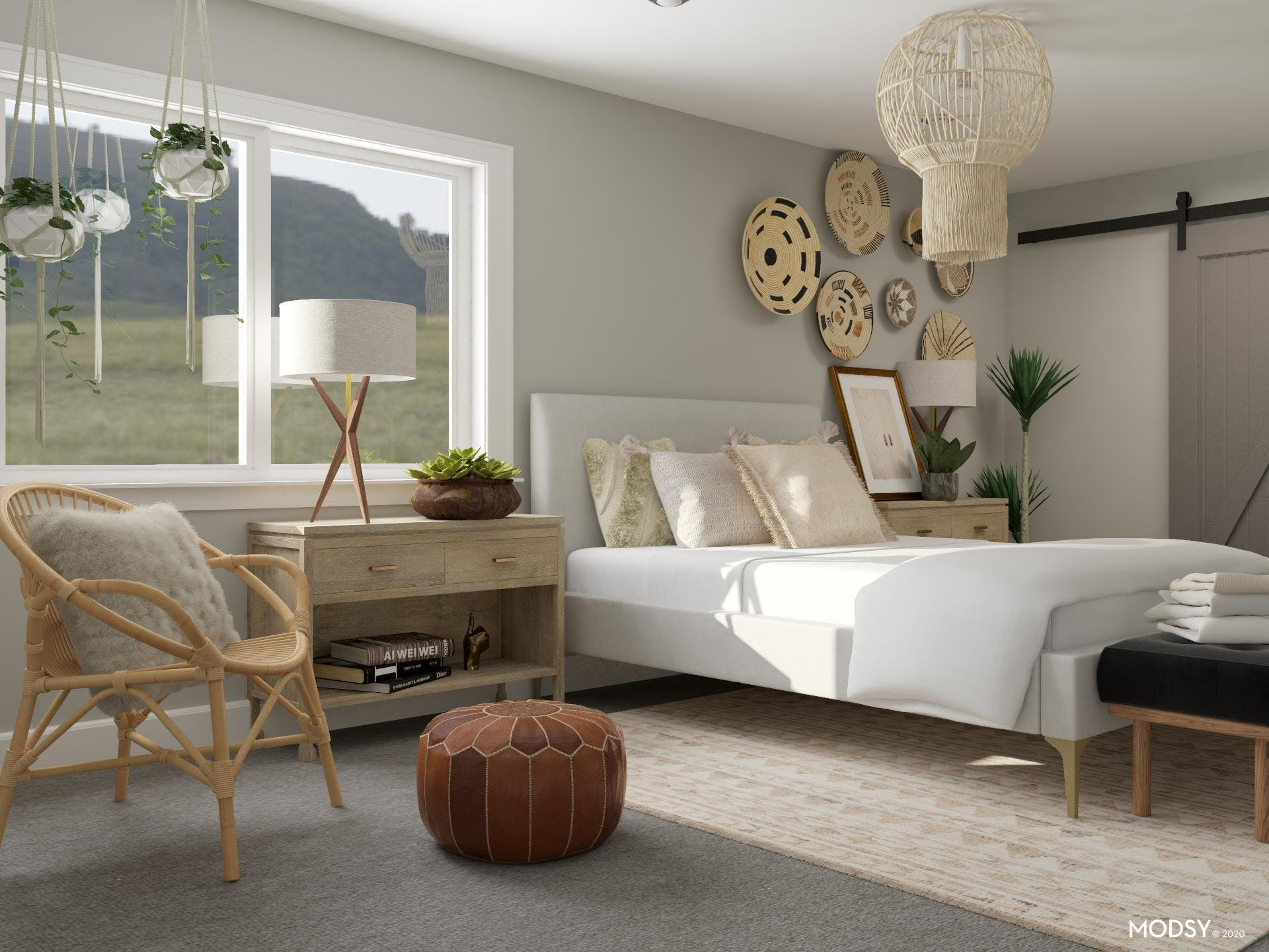 Neutral And Eclectic: Woven Whimsy