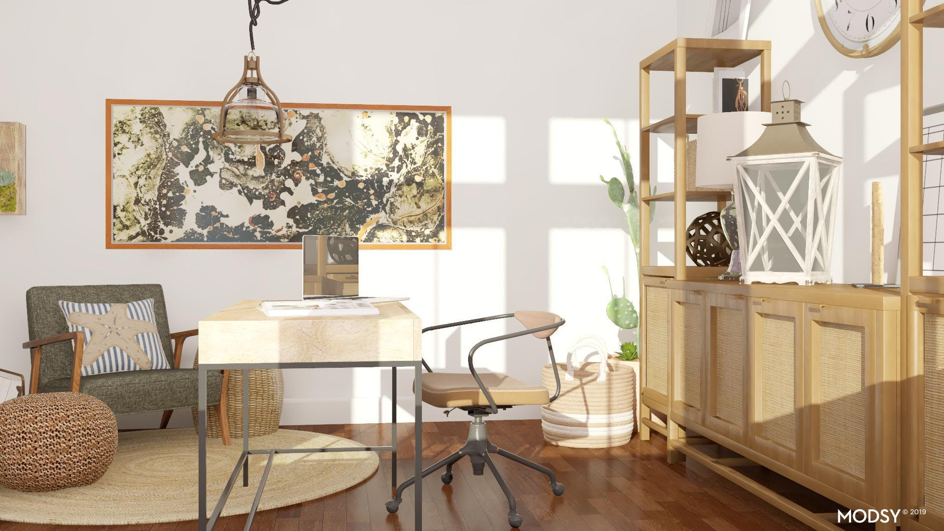 Statement Pieces for your Coastal Office