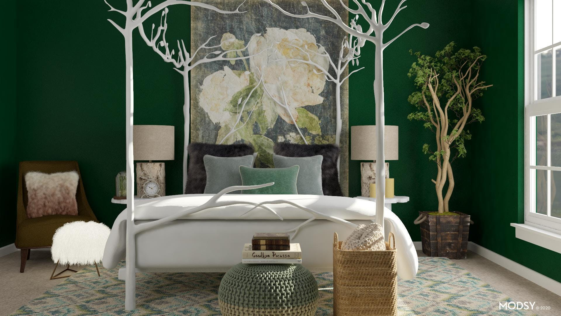 Curl Up With Green