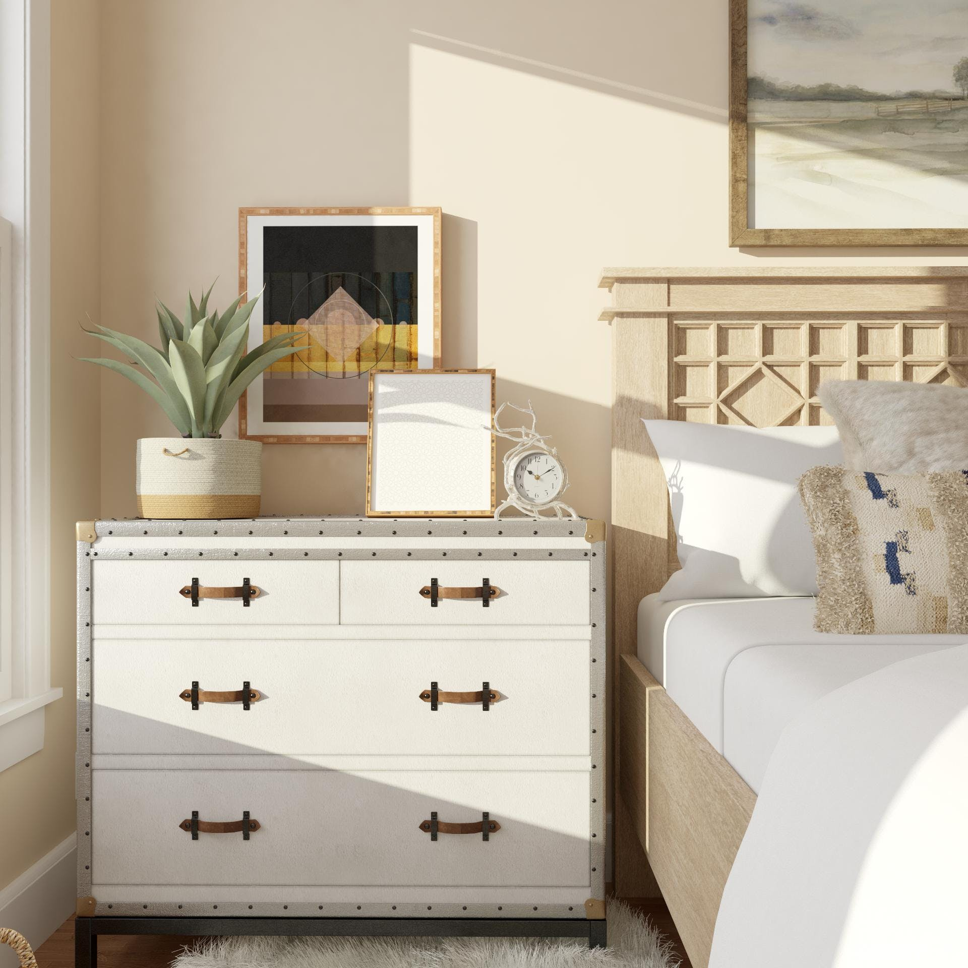 Large Nightstand: Small Space