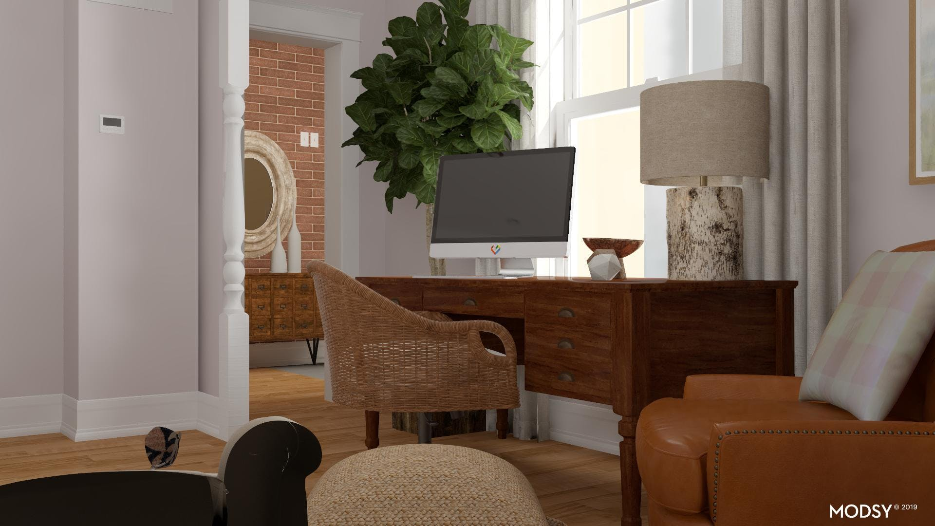 Work With Other Rooms In The House