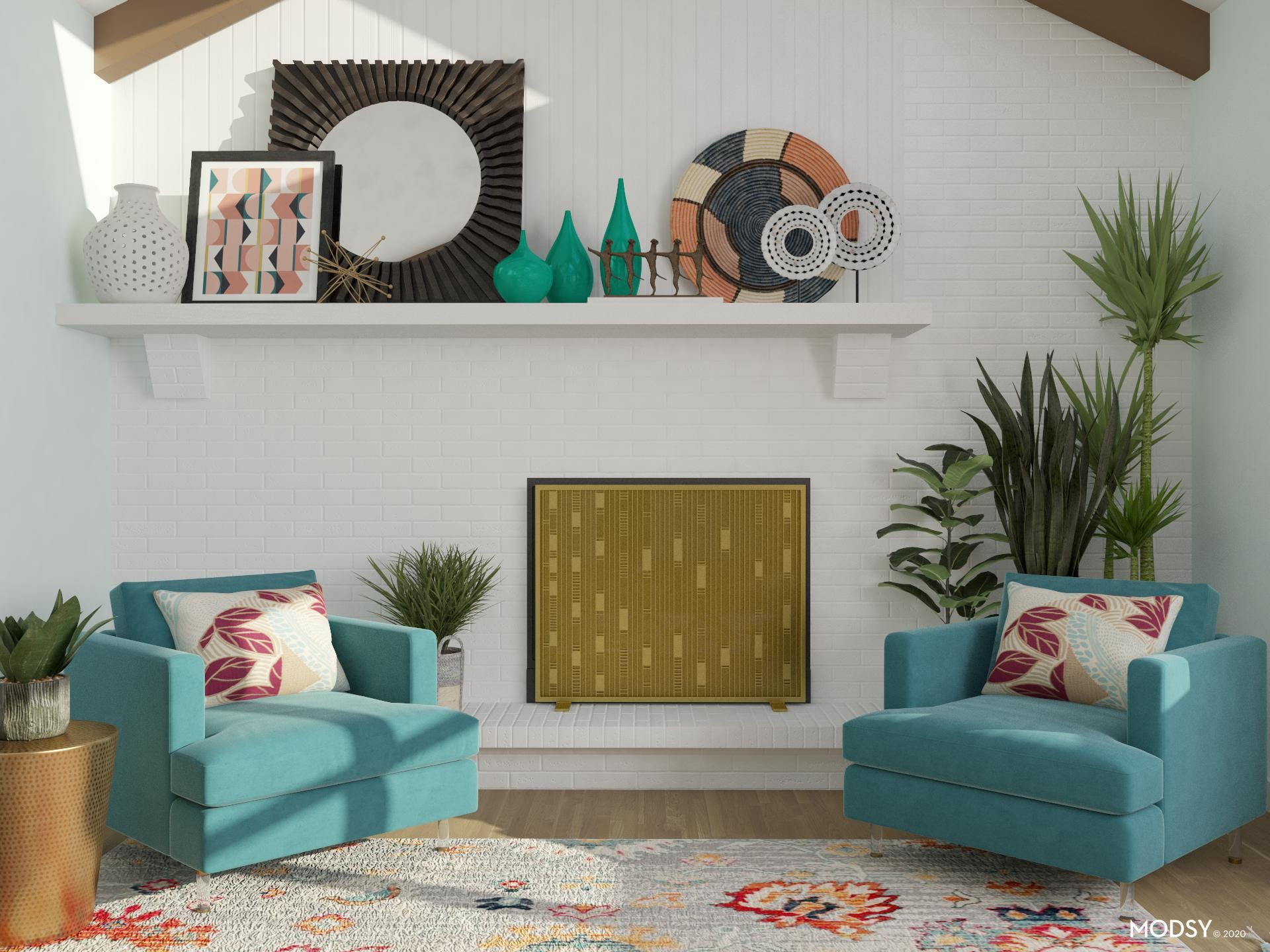 Bright Color Eclectic