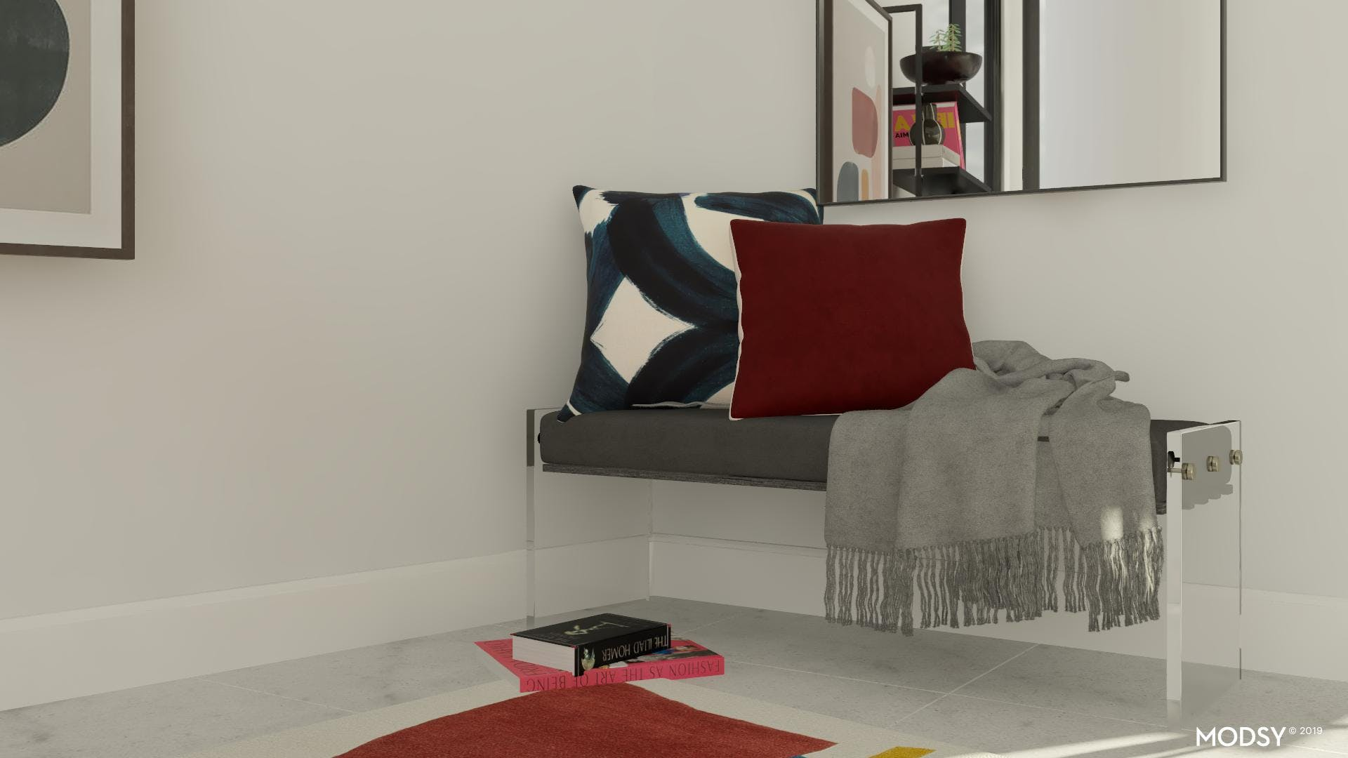 Cozy Office Accent Seating
