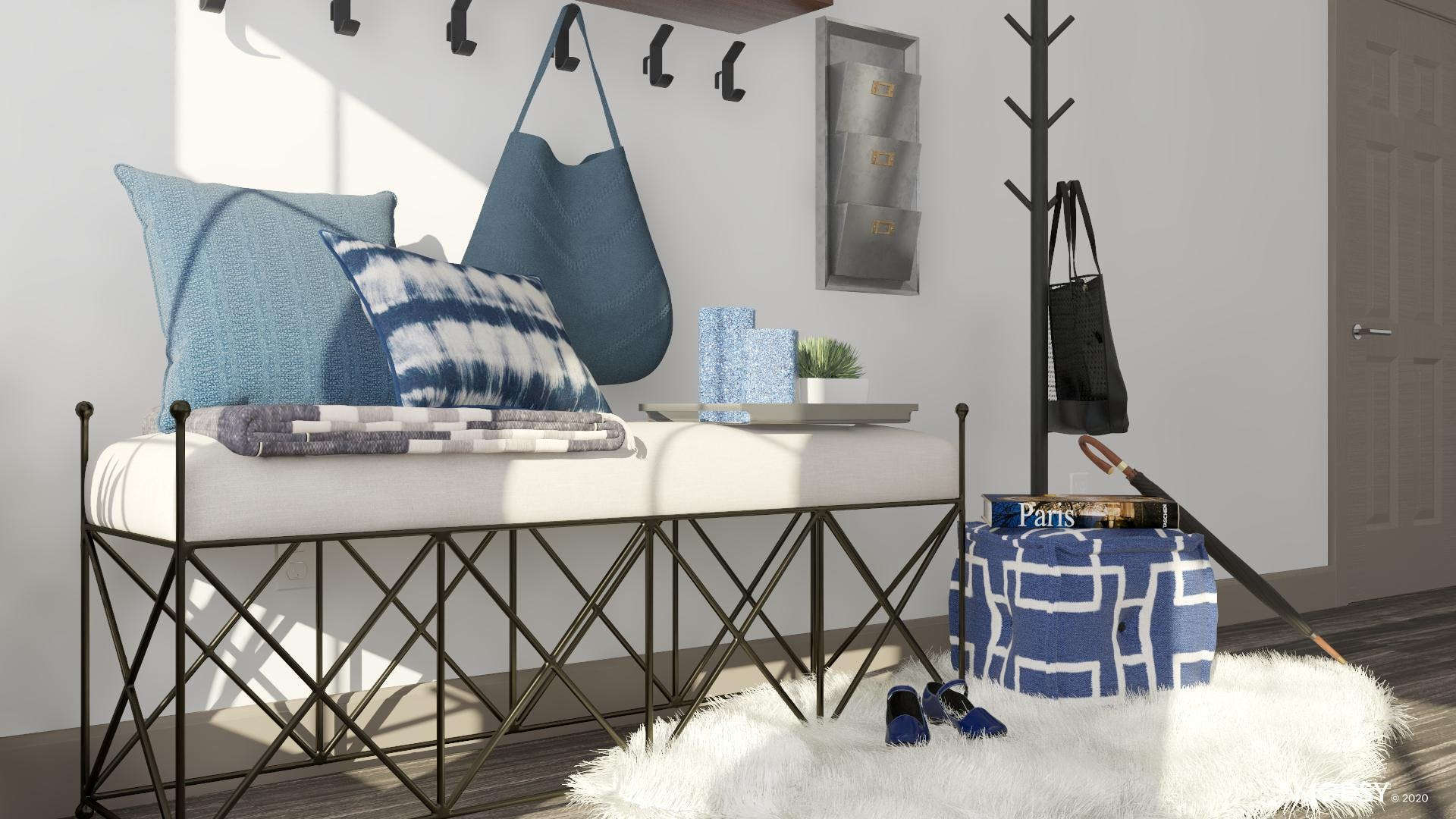 Welcome To The Blues Industrial Style!