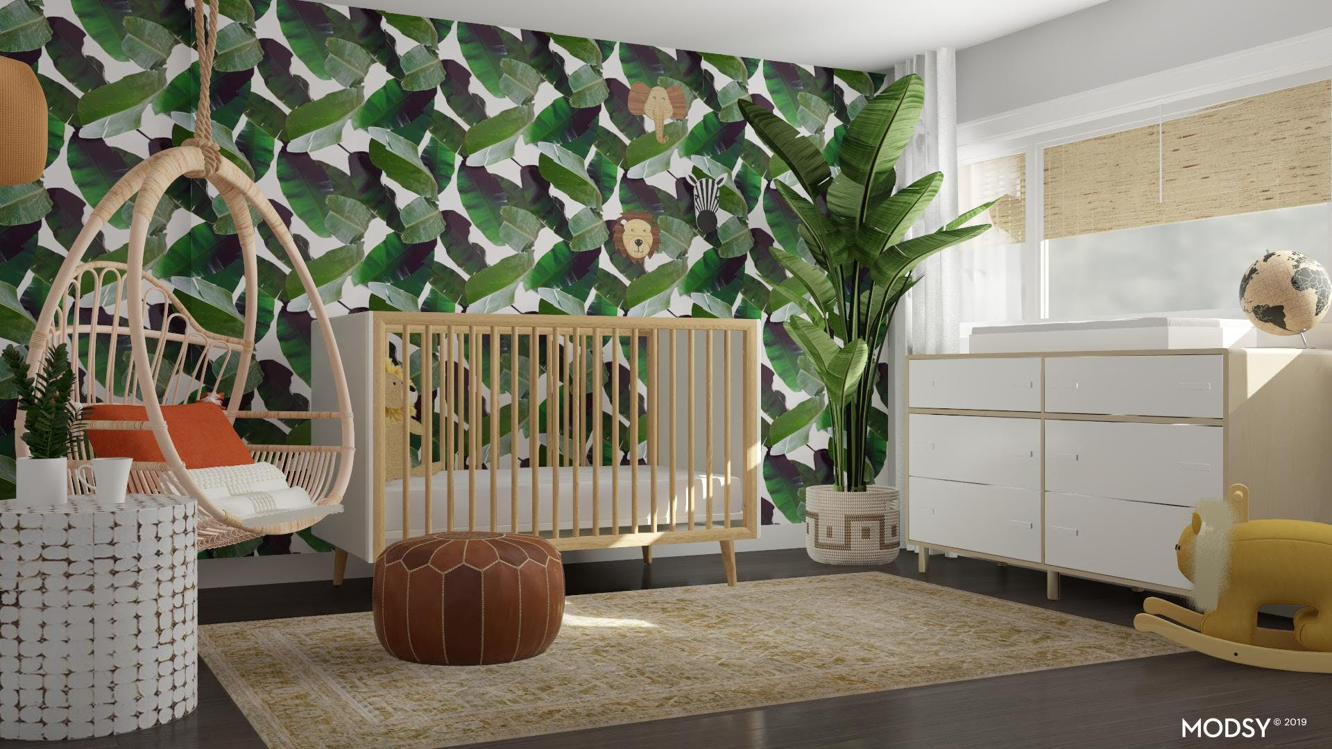 Eclectic Jungle Nursery