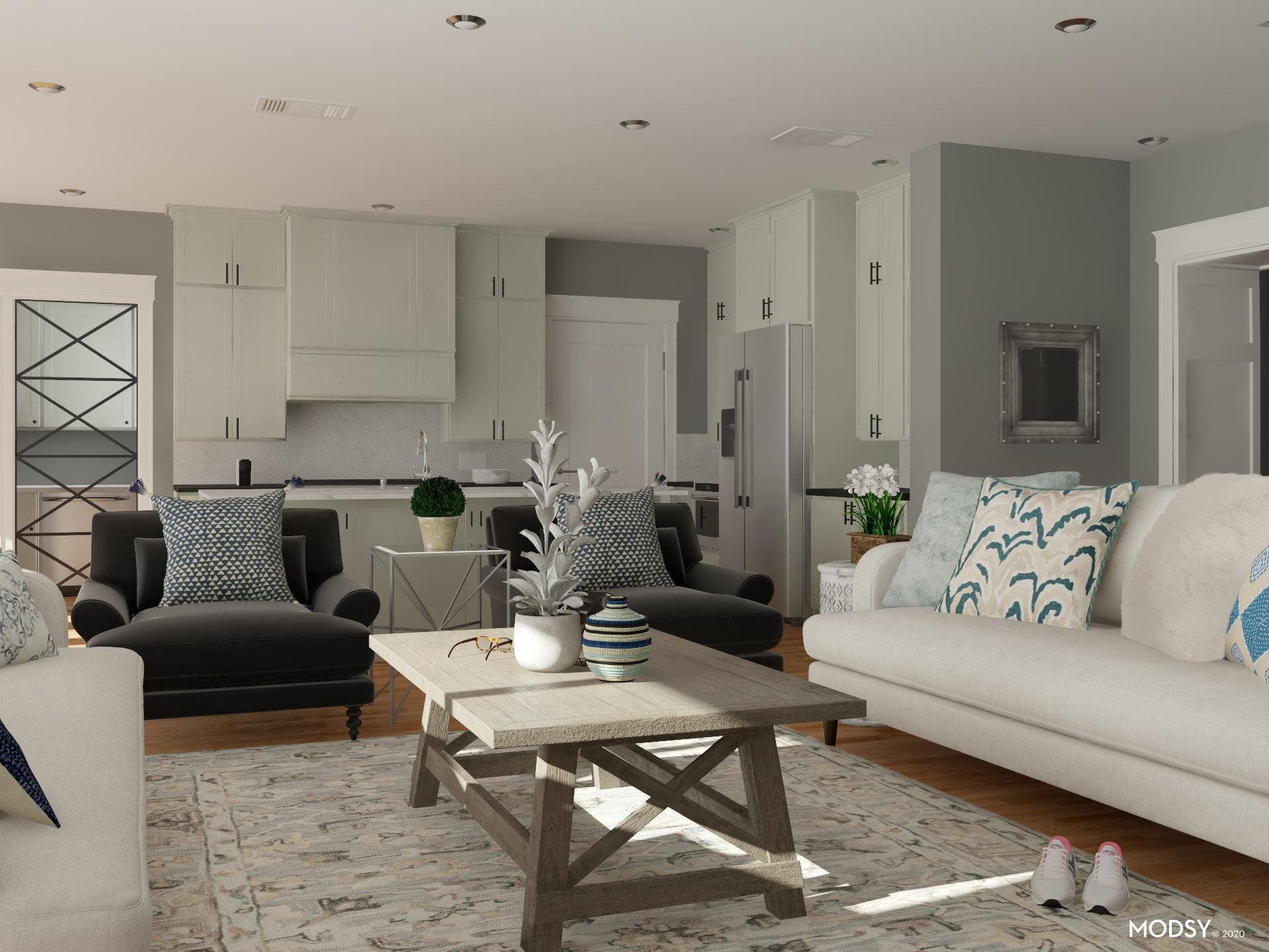 Cozy Living Room Seating Options