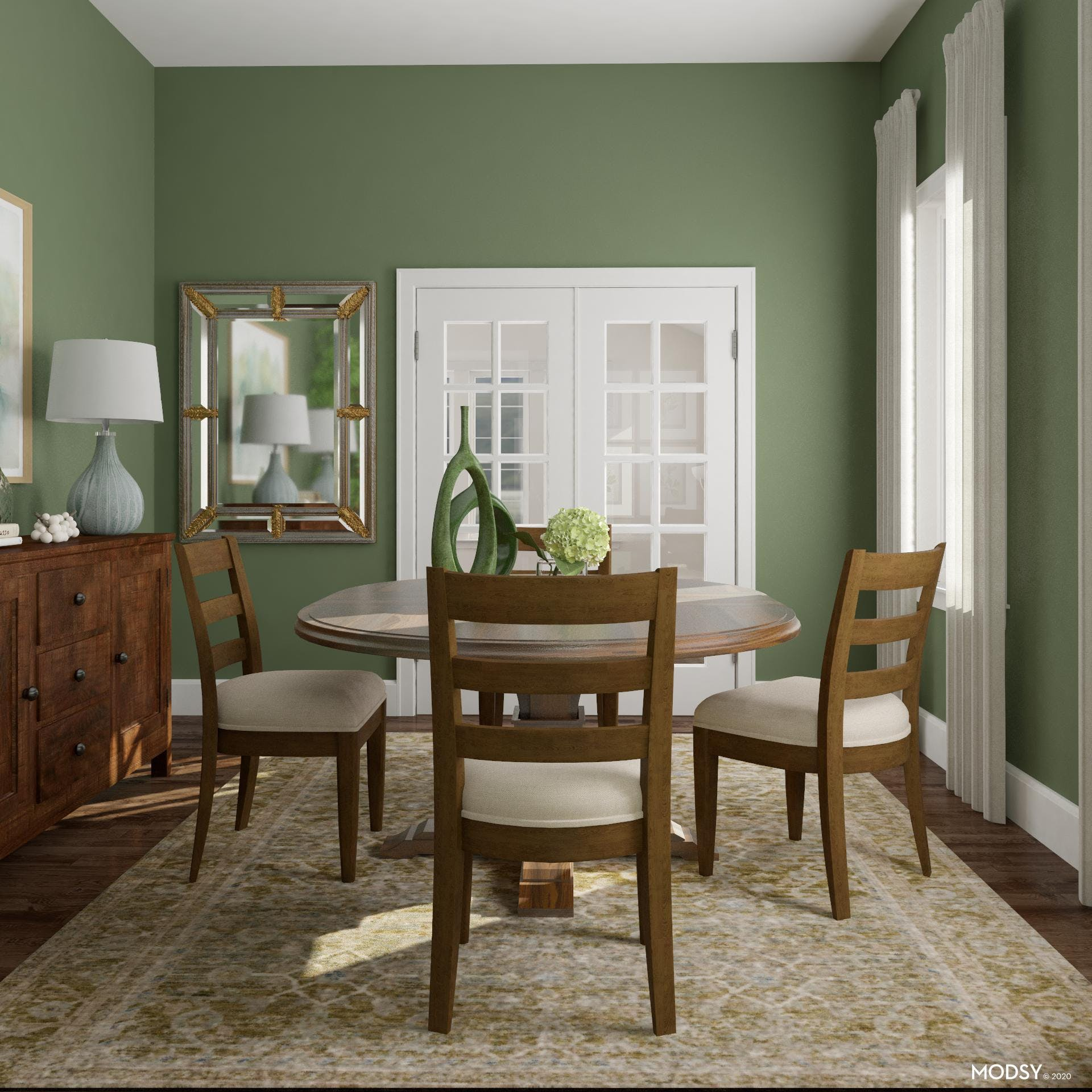 A Beautiful Traditional Dining Room