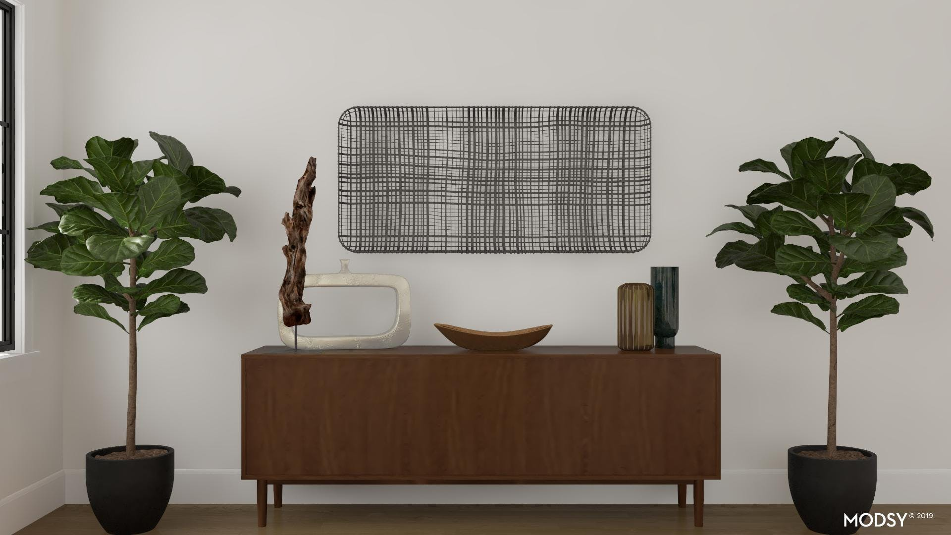 Earth to Modern: Sideboard Styling