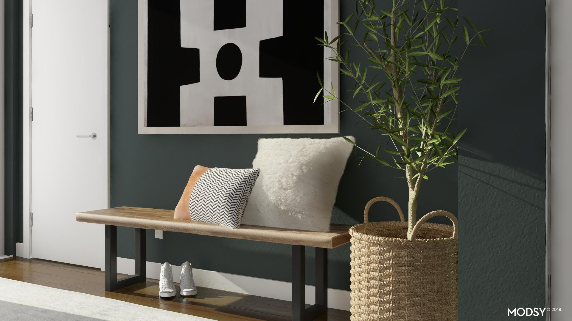 Go Bold With Entryway Art