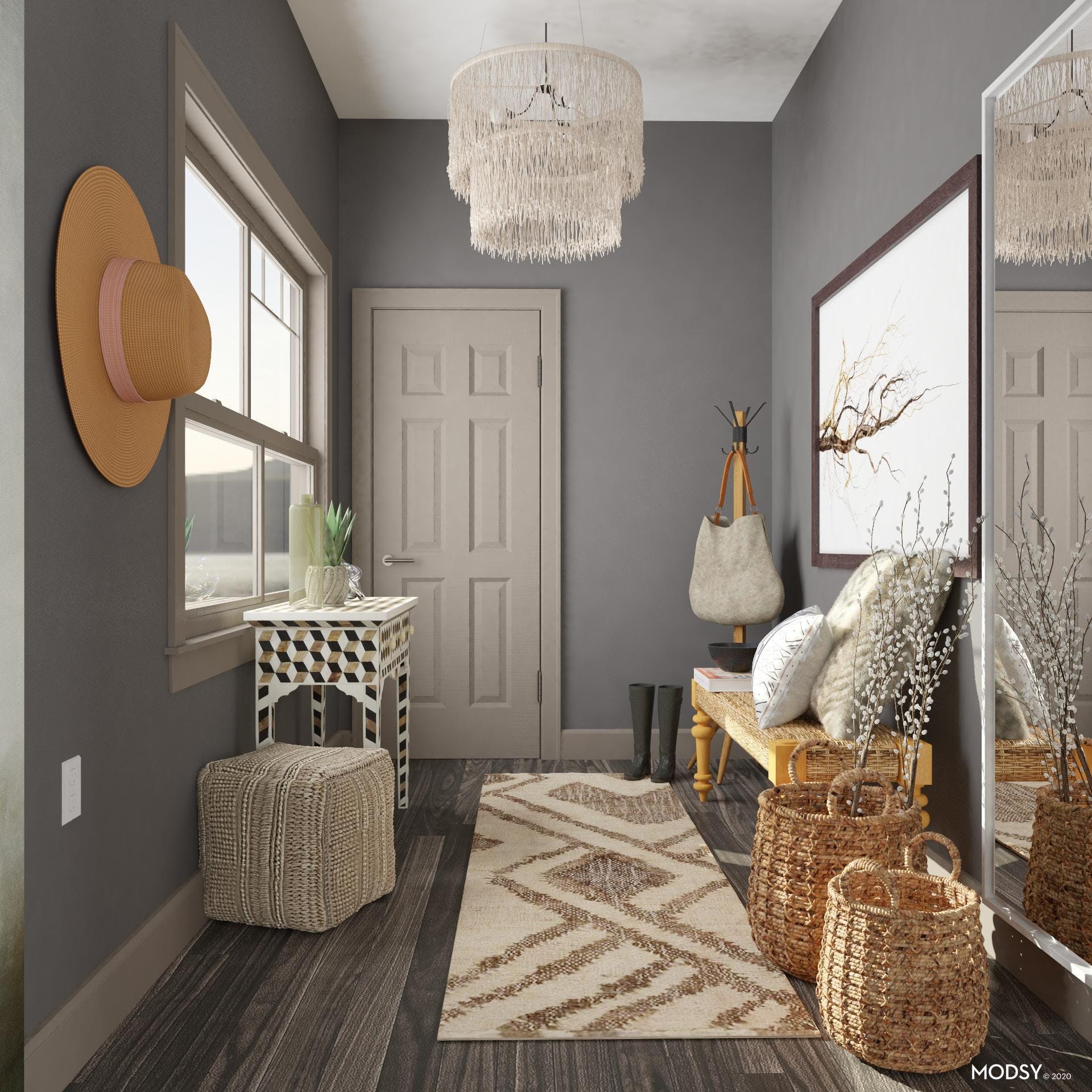 Charming Eclectic Entry