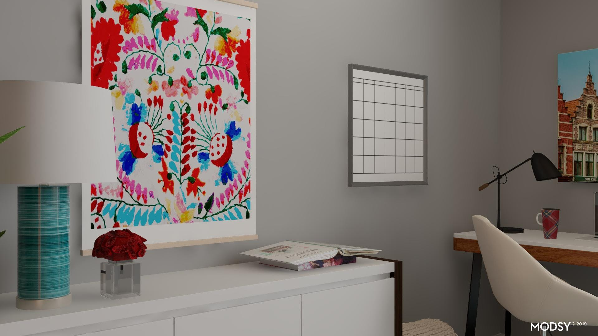 Bold Accents in Your Office