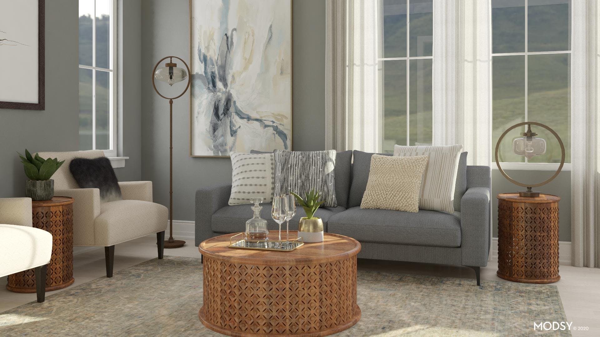 Classic + Contemporary = Transitional