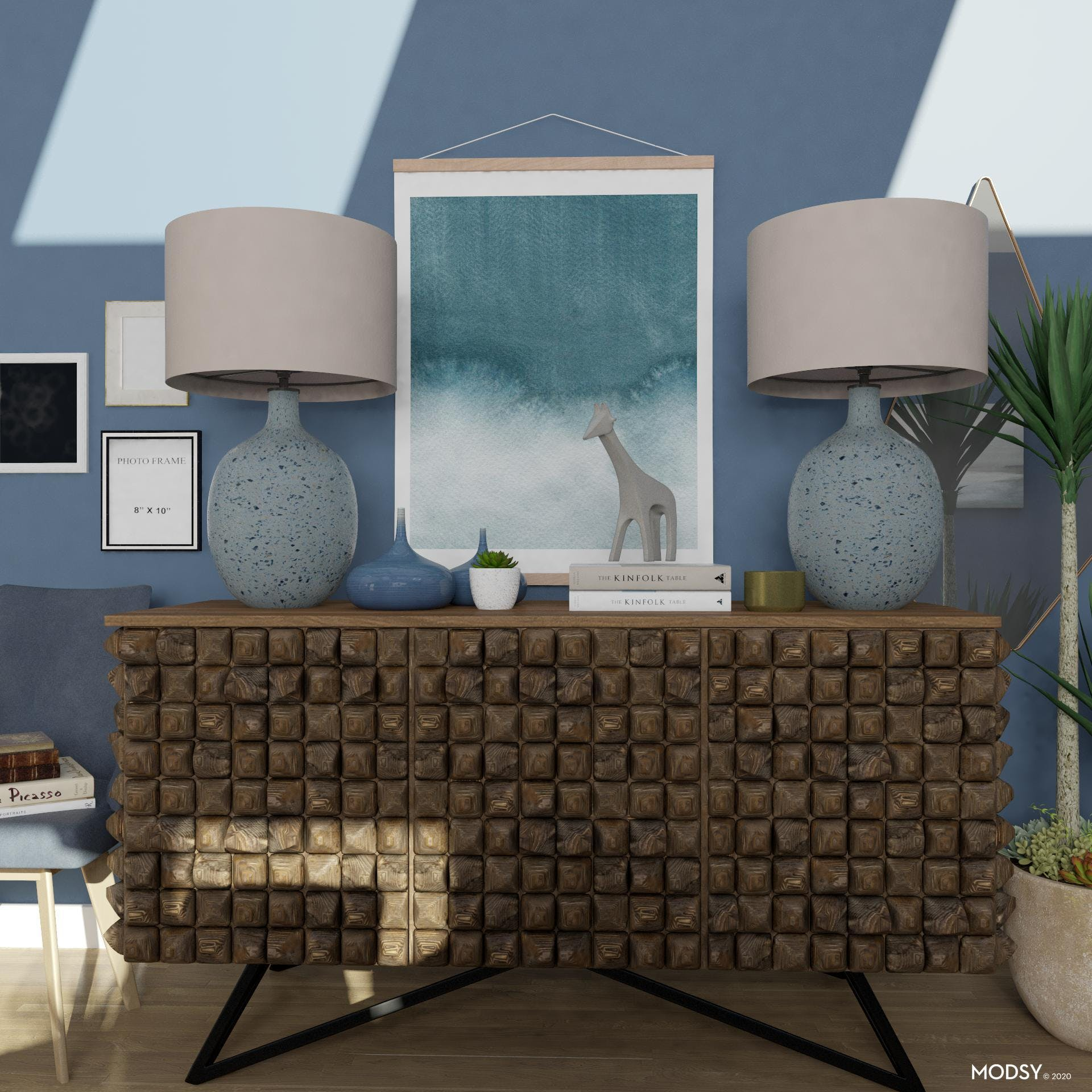 Eclectic Blues Dining