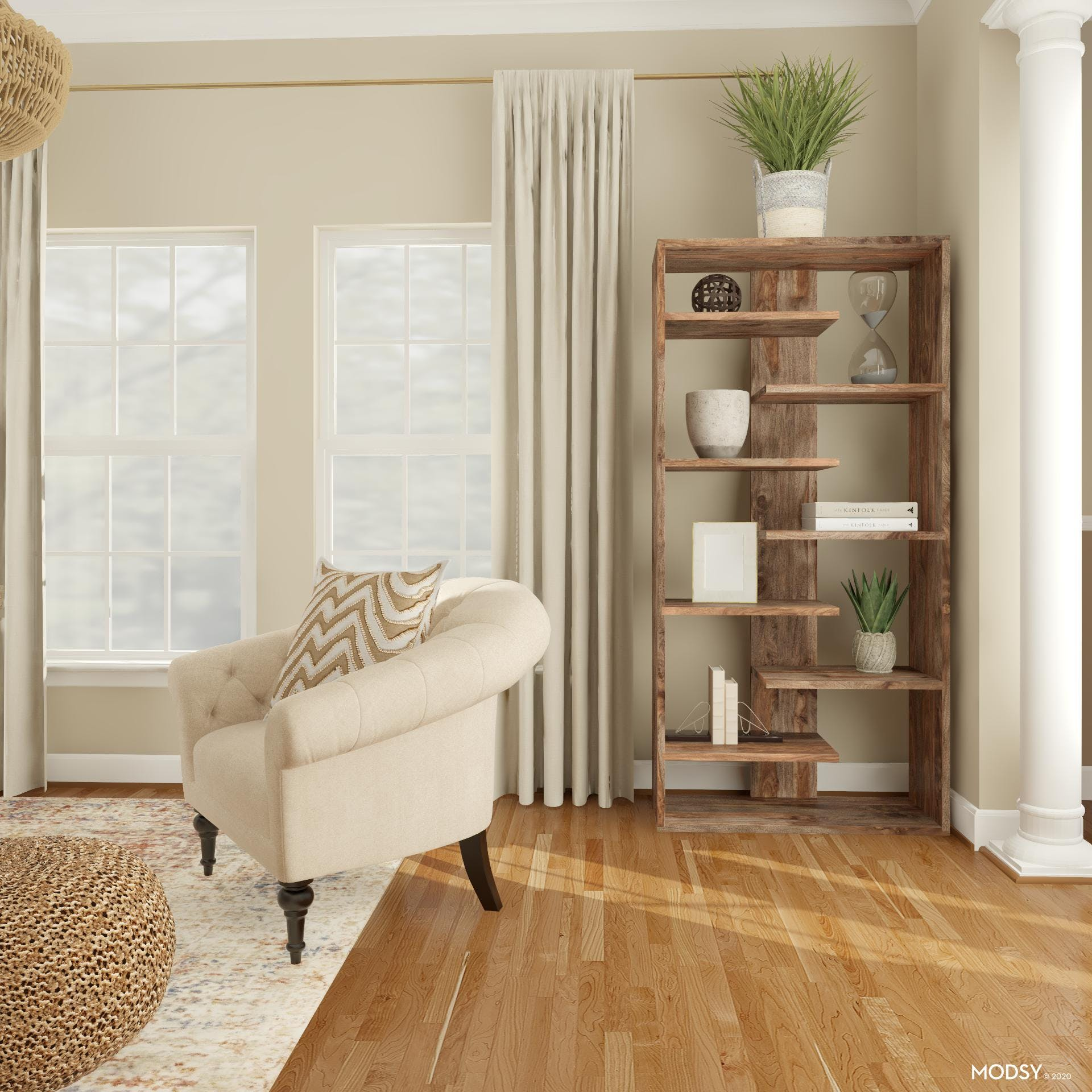 Dow Home Rustic Office