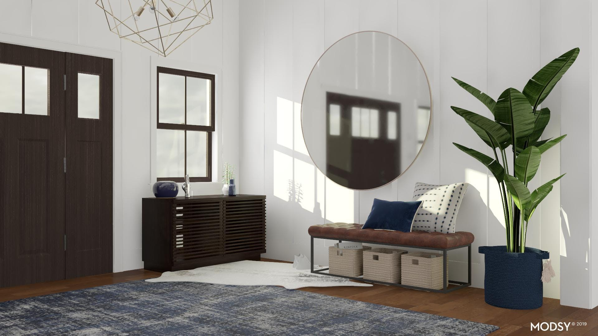 Functional and Chic Entry