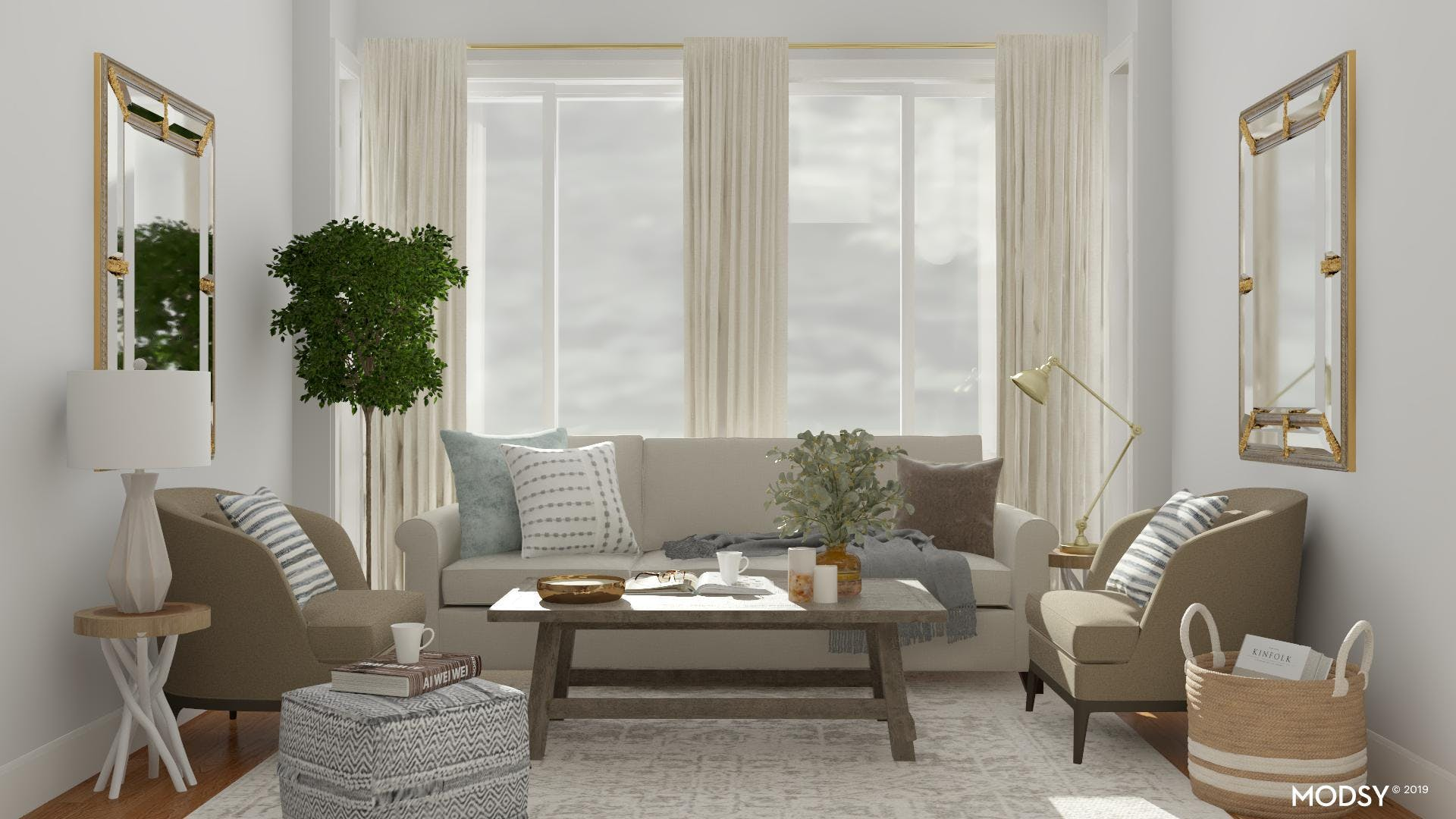 Traditional Chic Living Room