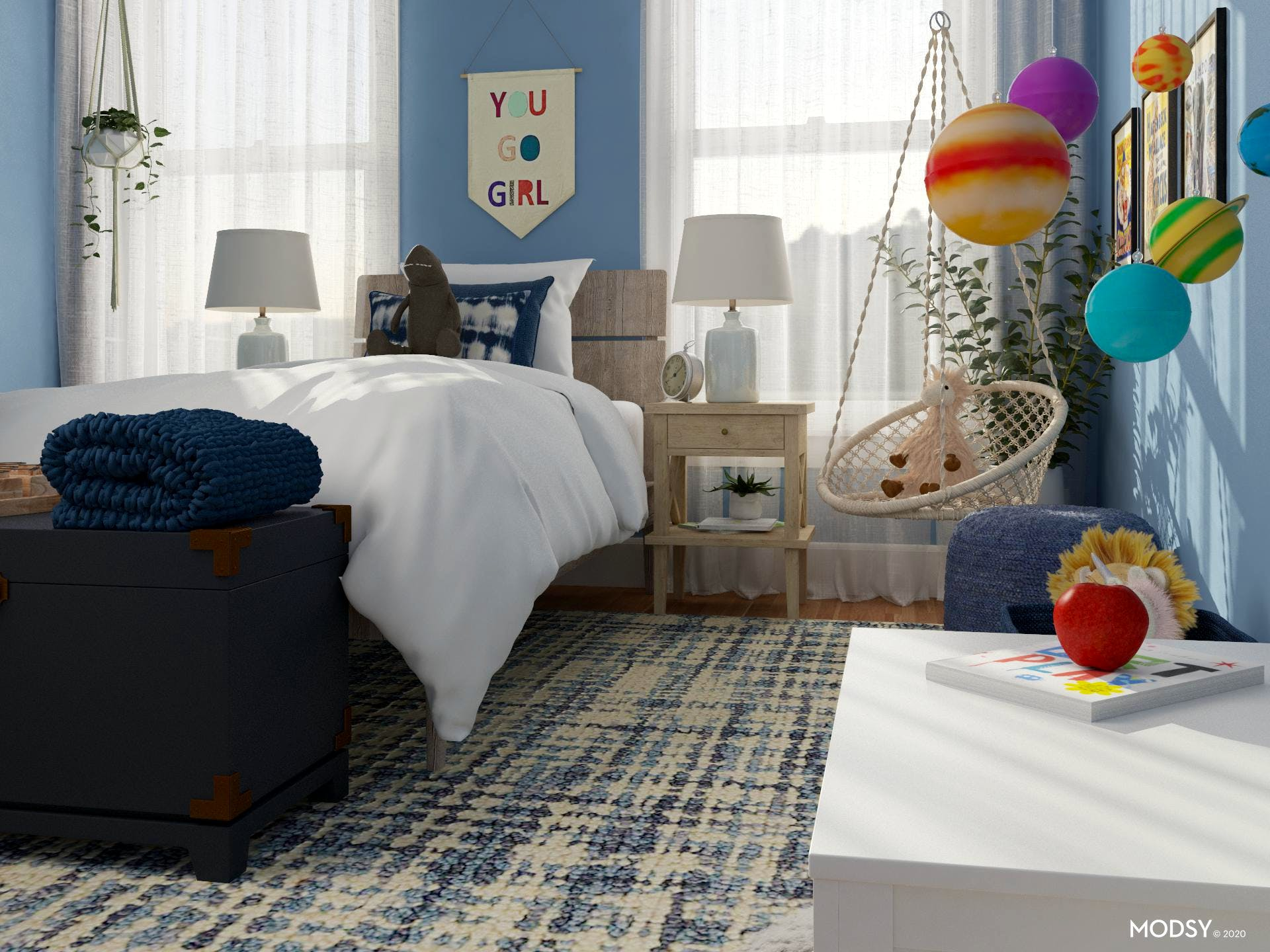 Storage Galore For Children's Rooms