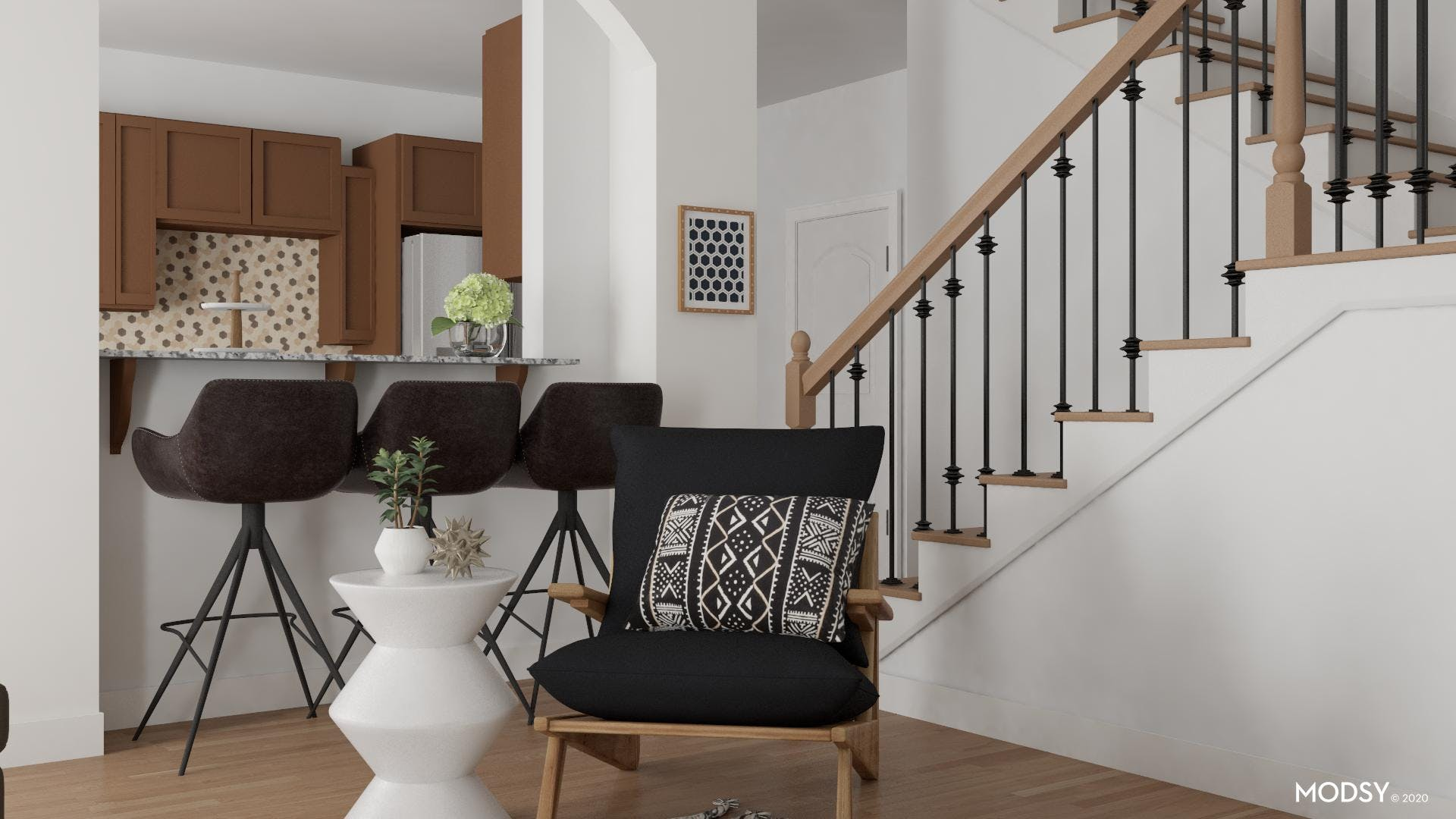 Accent Seating: Eclectic Conversations