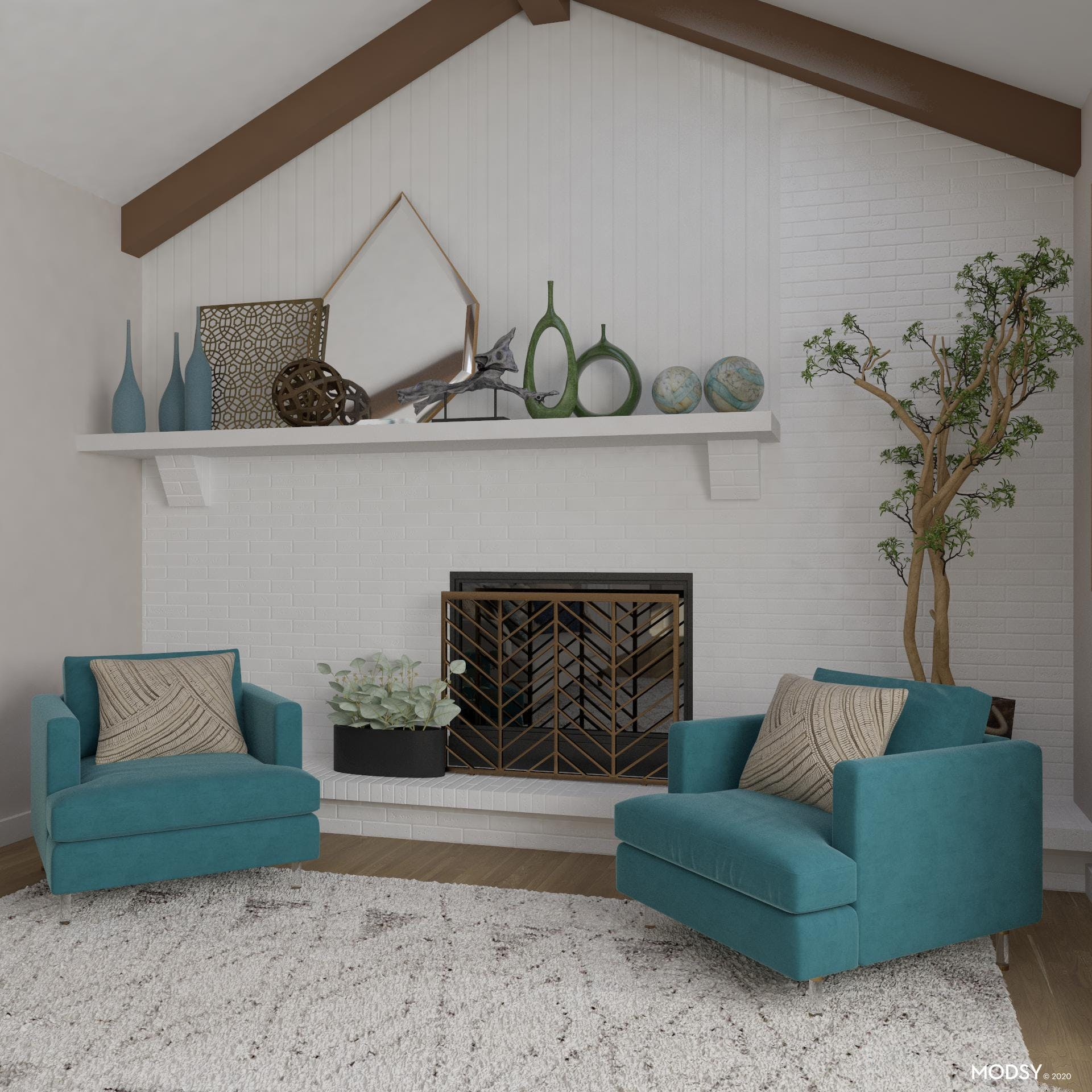 Bring In Nature: Eclectic Living