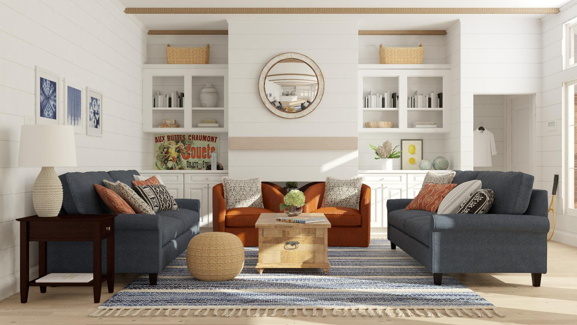Stay A While: Living Room Design