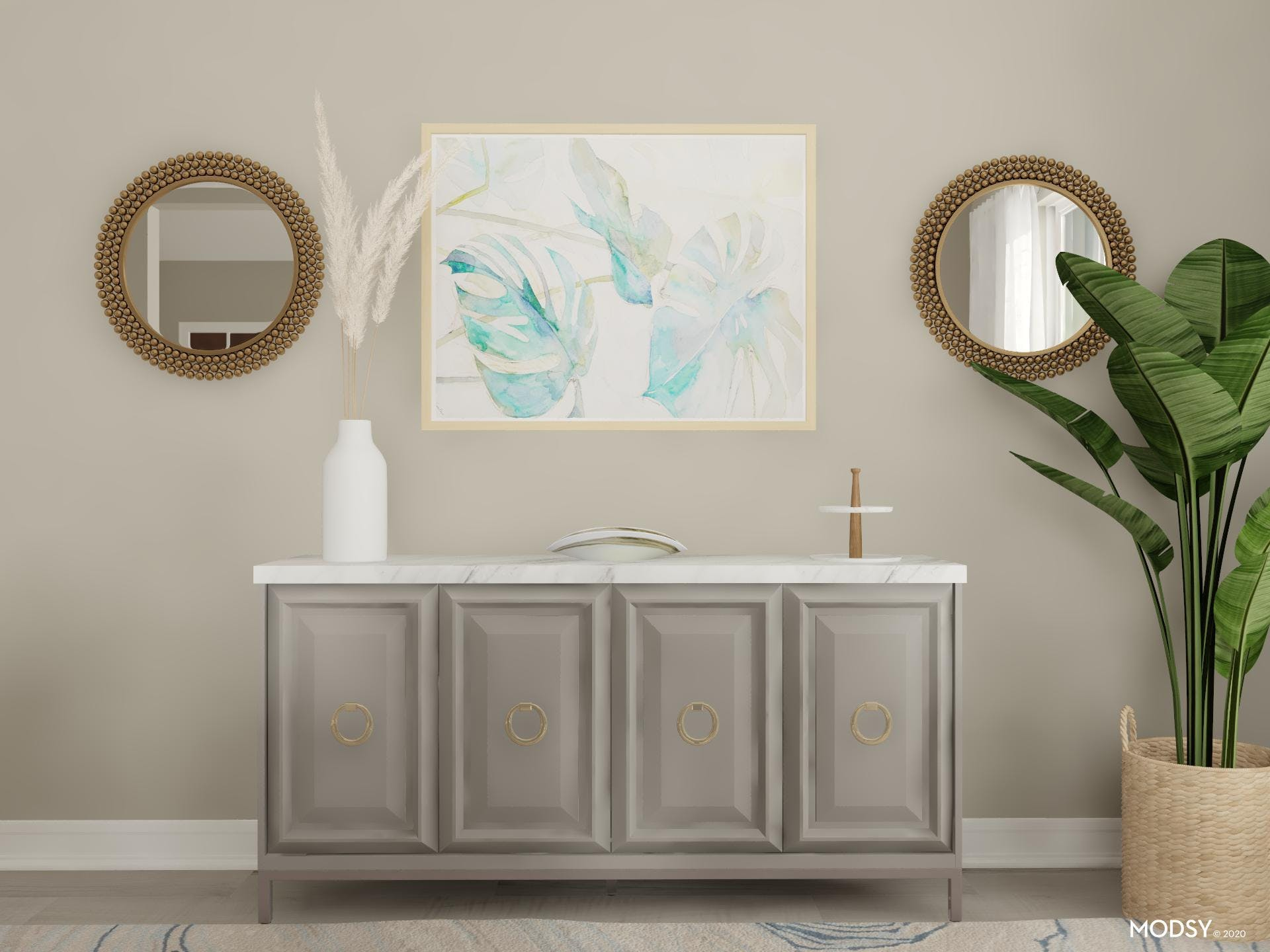 Traditional Facelift: Sideboard