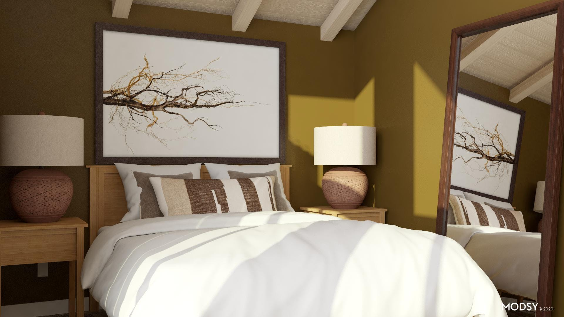 Timeless Style in Transitional Bedroom