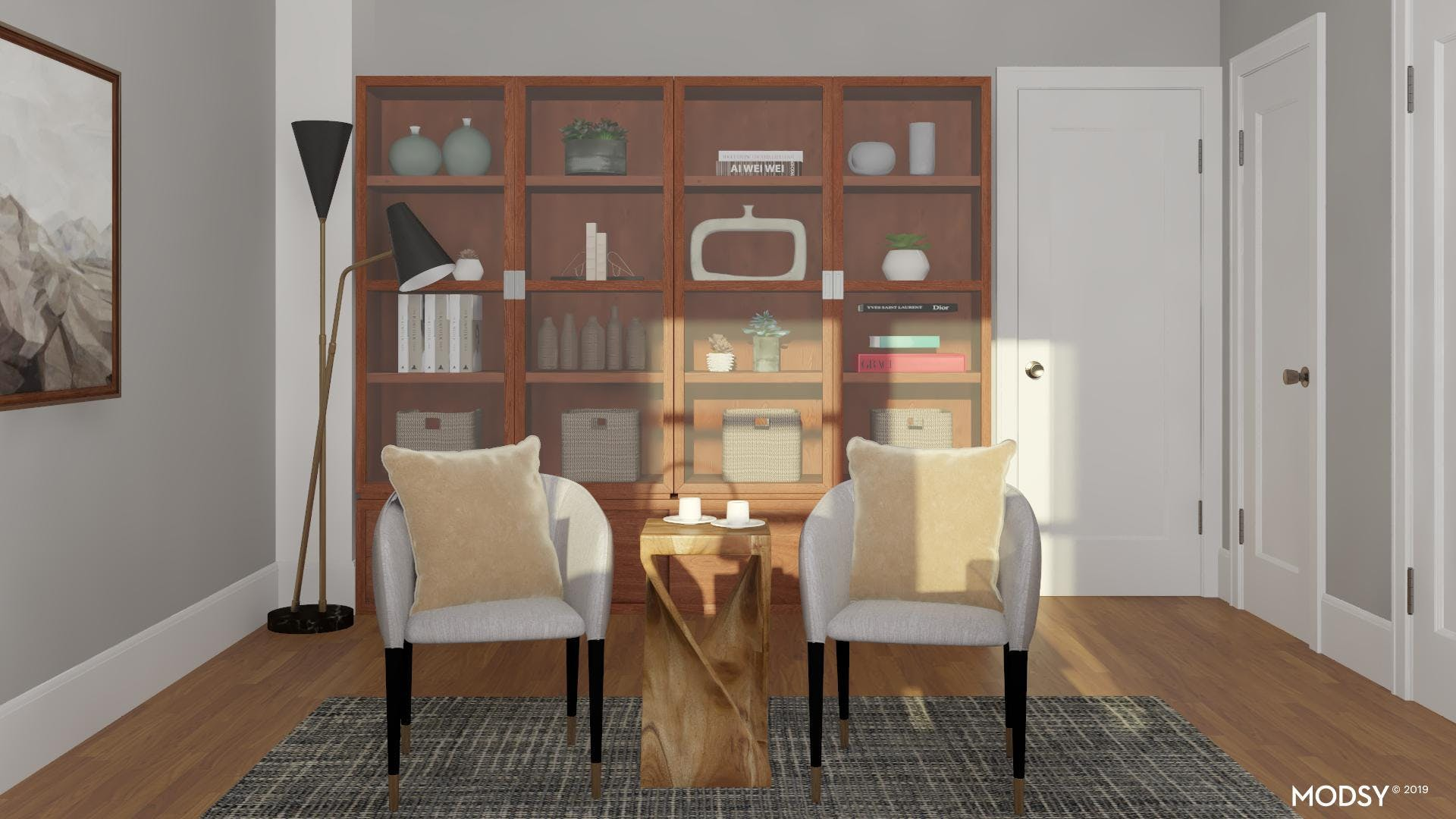 Greet Your Clients In Style: Modern Home Office Design