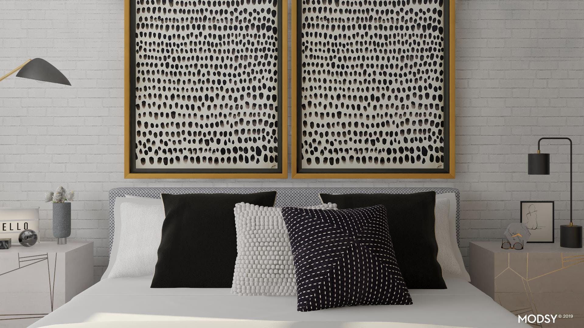 Classic Black And White With A Modern Twist