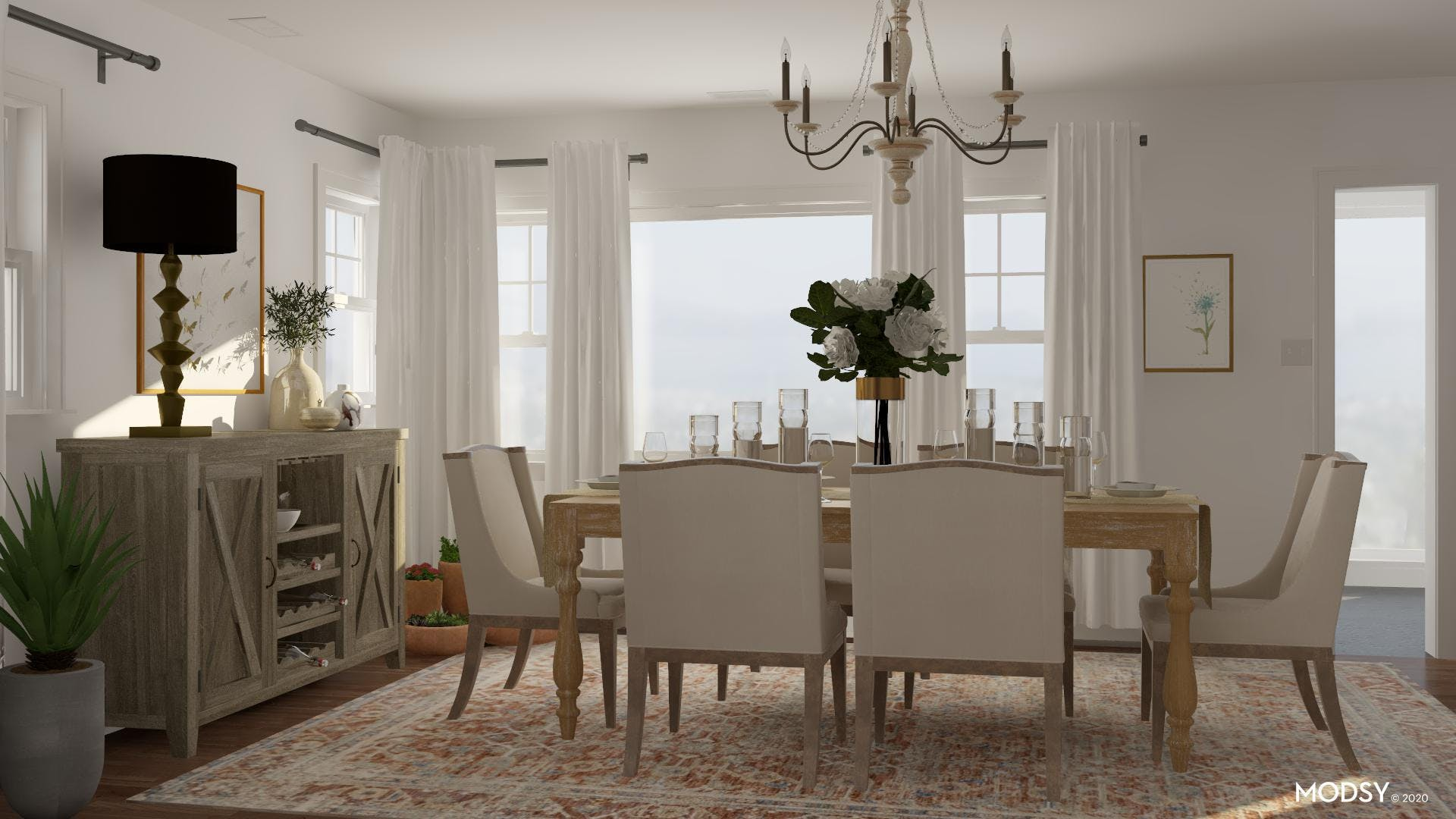 Traditional And Elegant Dining