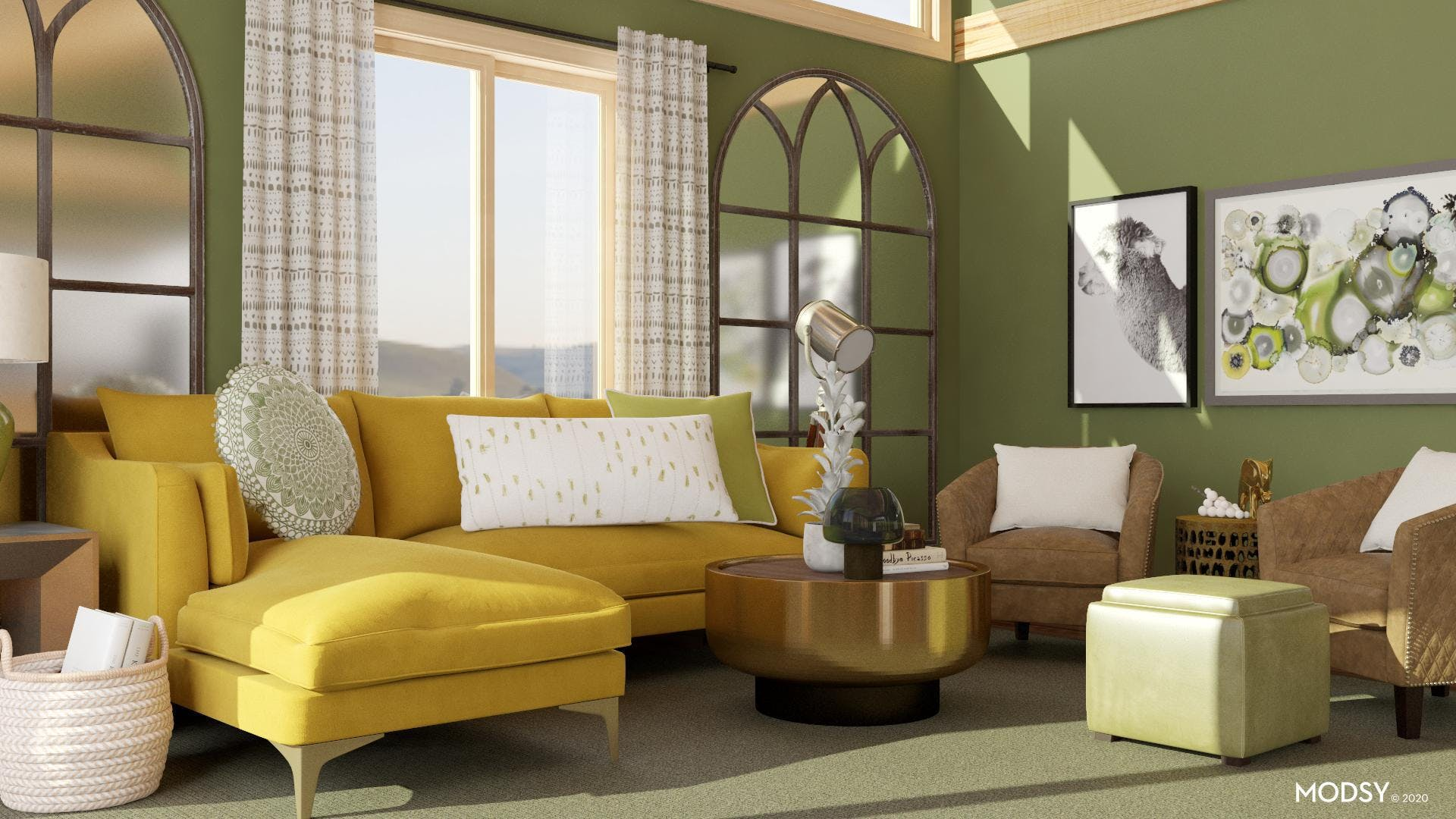 Stylish And Comfortable Eclectic
